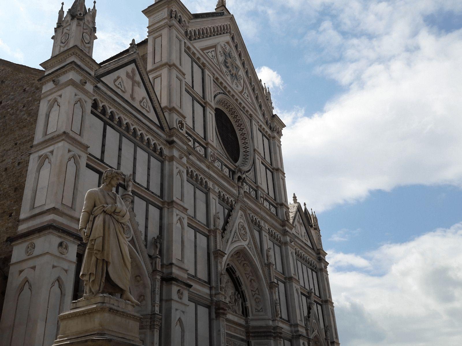Toskana i Firenca: Firenca: bazilika Santa Croce