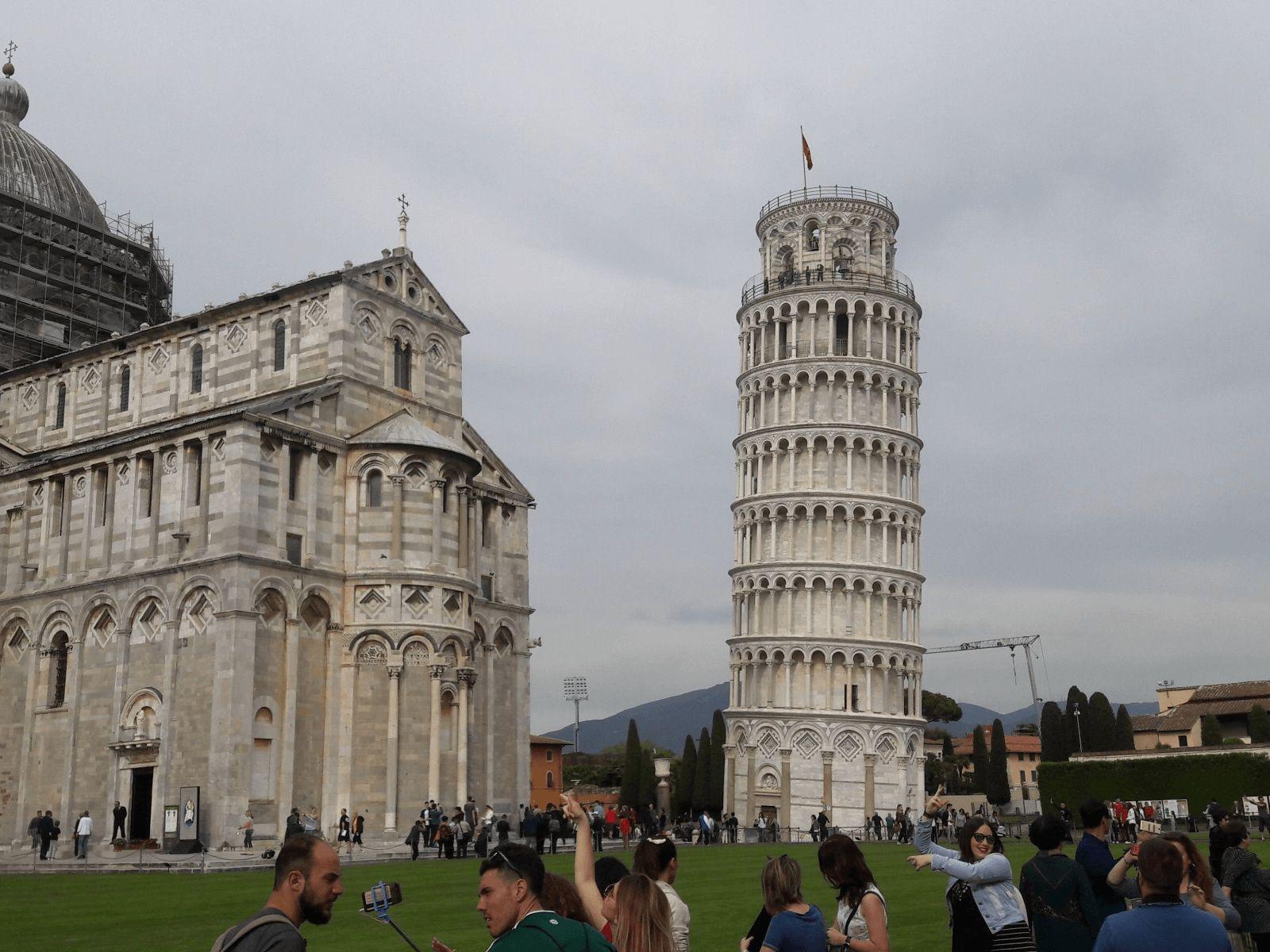 Toskana i Firenca: Pisa: Kosi toranj