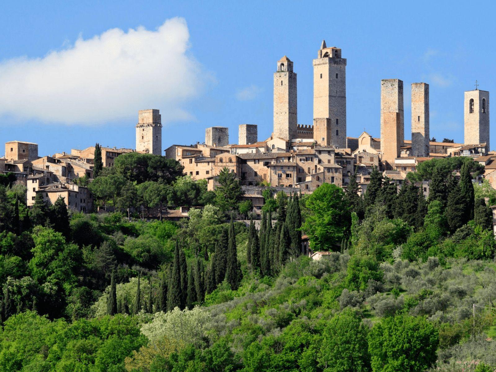 Toskana i Firenca: San Gimignano: gradić tornjeva