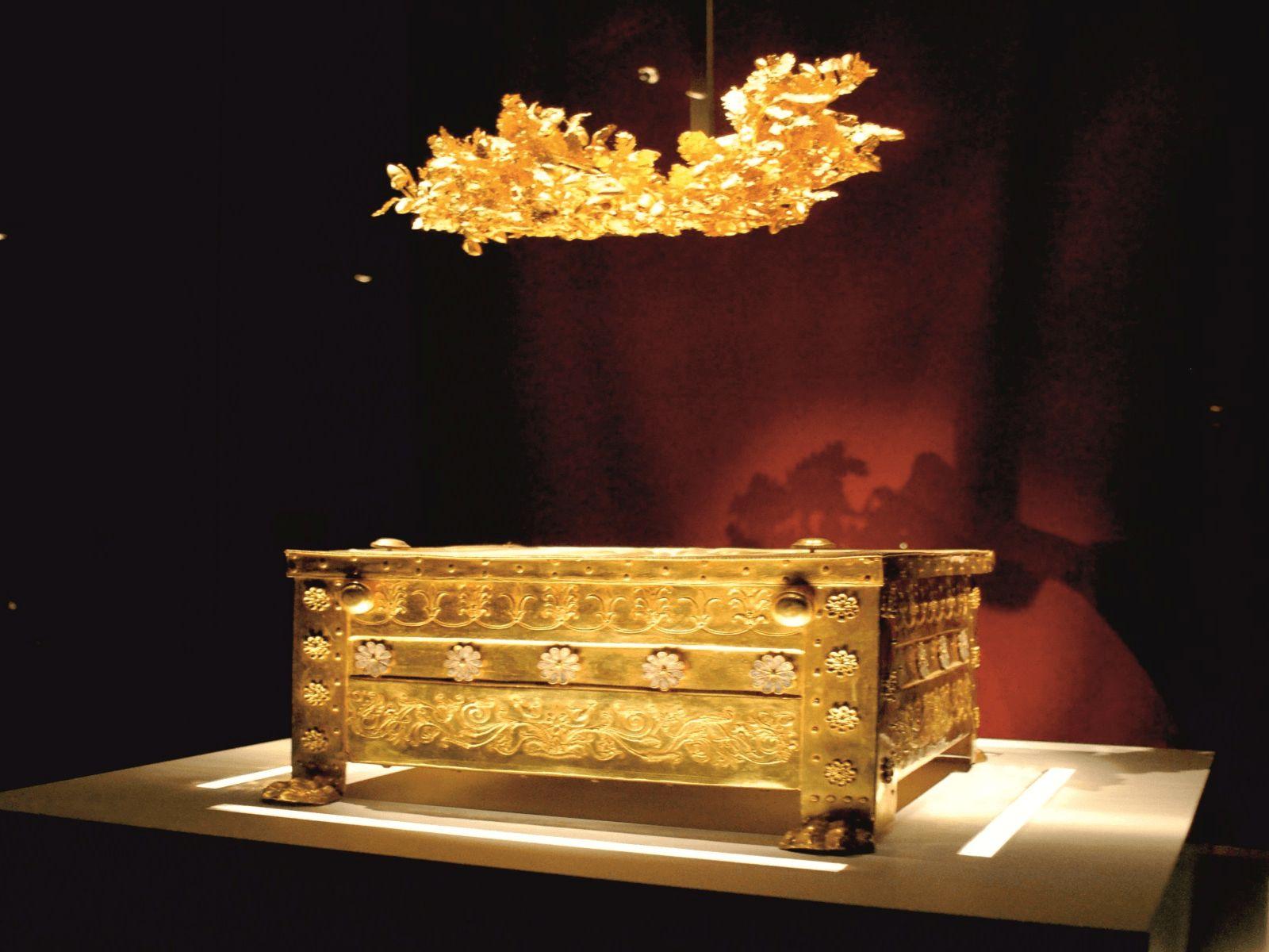 Prijestolnice Grčke i Antička Grčka: Vergina: Grobnice Filipa II. Makedonskog