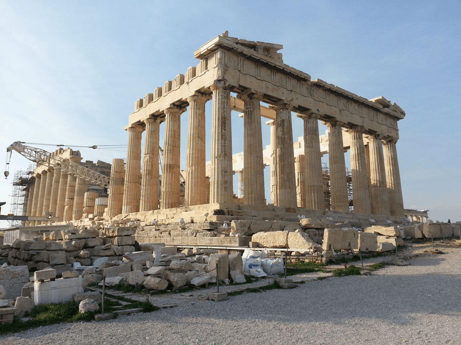Prijestolnice Grčke i Antička Grčka: Atena: Akropola, Parteon