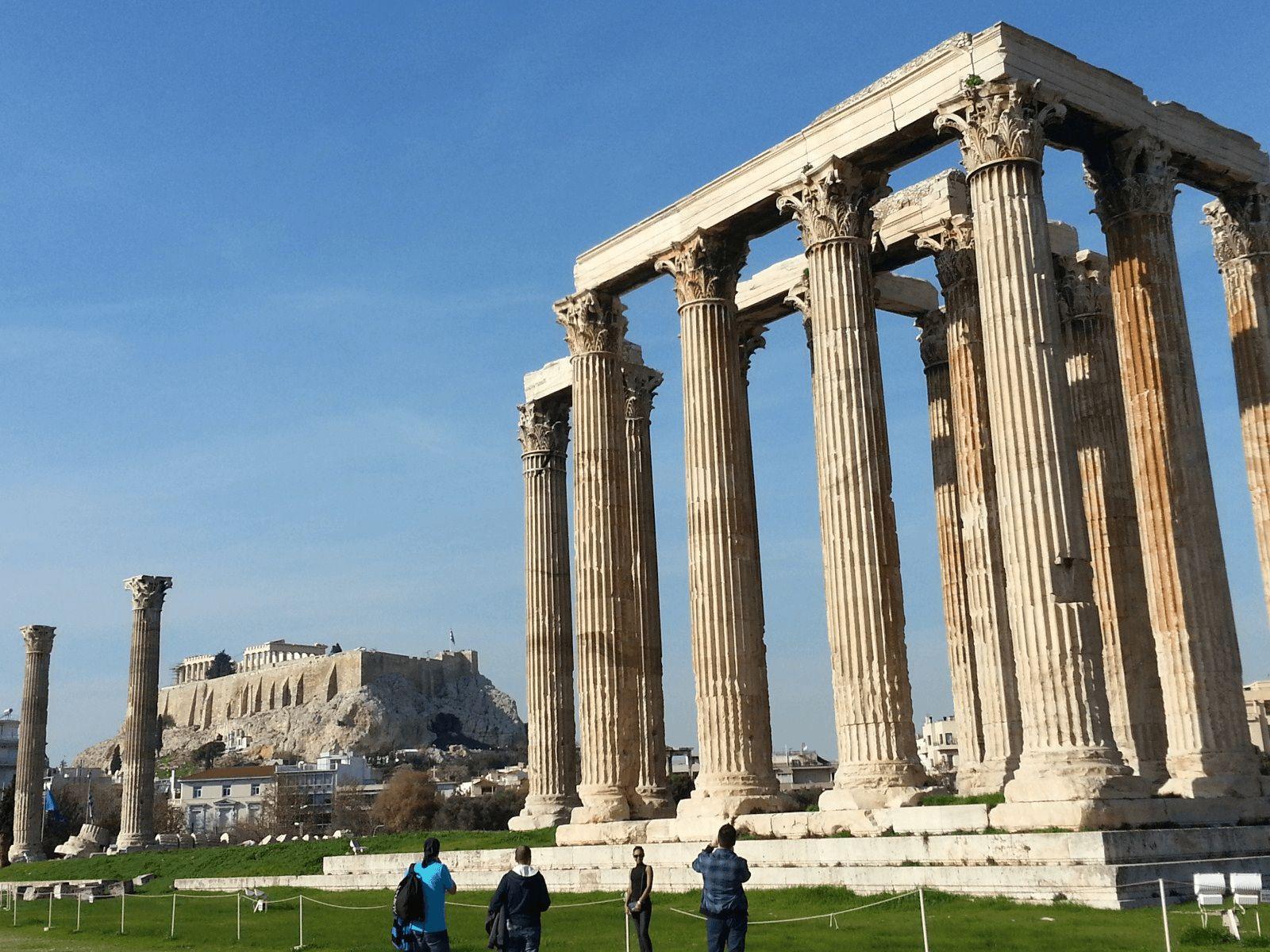 Prijestolnice Grčke i Antička Grčka: Atena: Olimpion