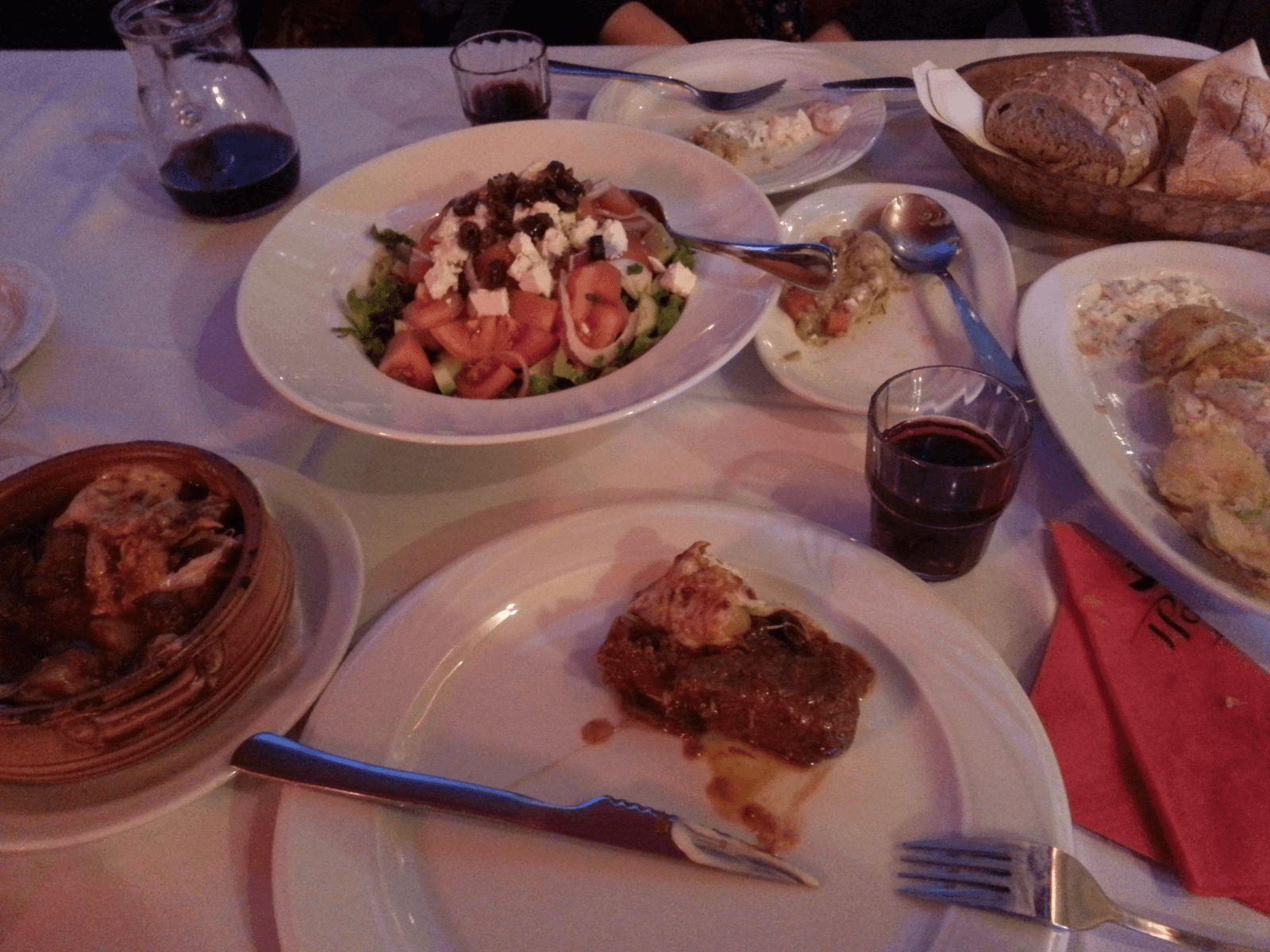 Prijestolnice Grčke i Antička Grčka: Grčka hrana i mezes