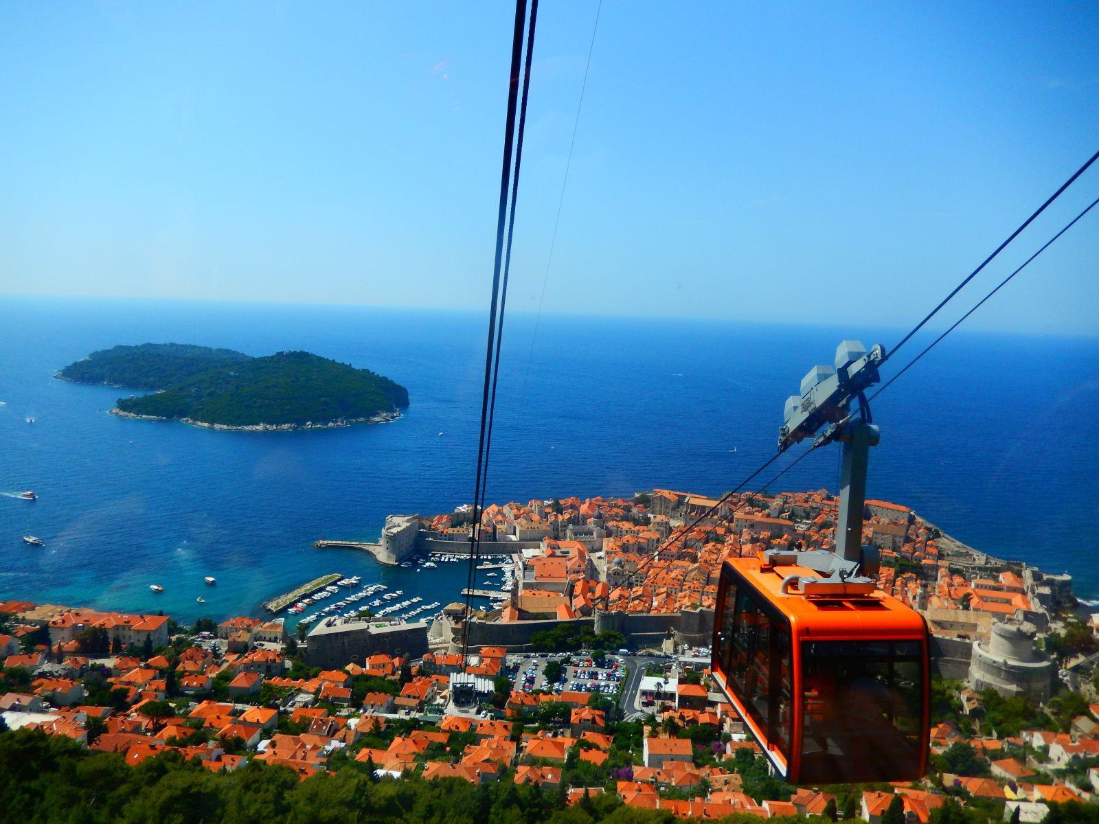 Dubrovnik i južna Dalmacija: Dubrovnik: Žičara Srđ