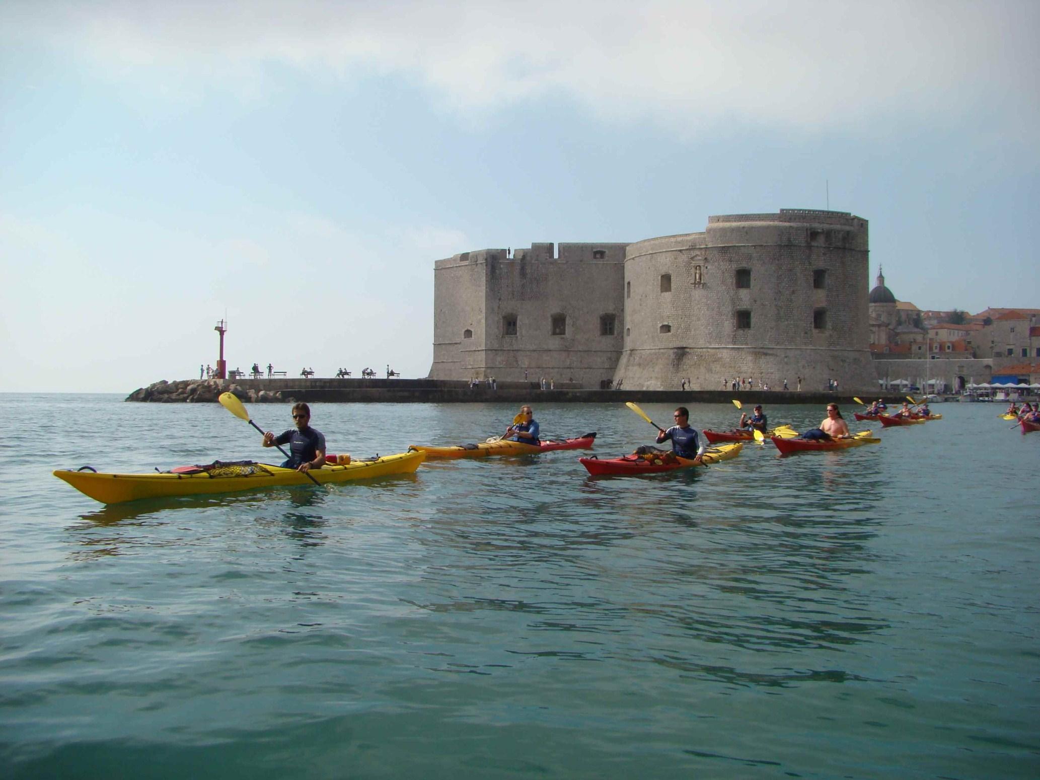 Dubrovnik i južna Dalmacija: Dubrovnik: kayaking