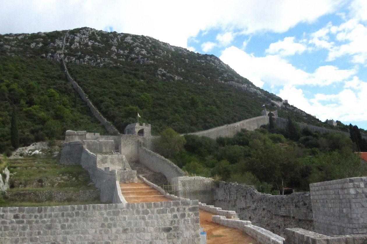 Dubrovnik i južna Dalmacija: Stonske zidine