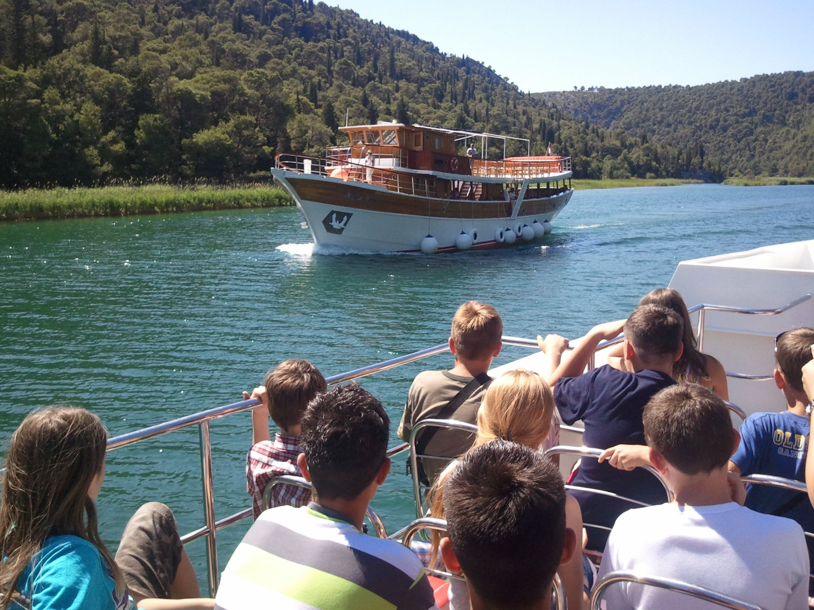 Najbolje od srednje i sjeverne Dalmacije: Nacionalni park Krka: vožnja brodom