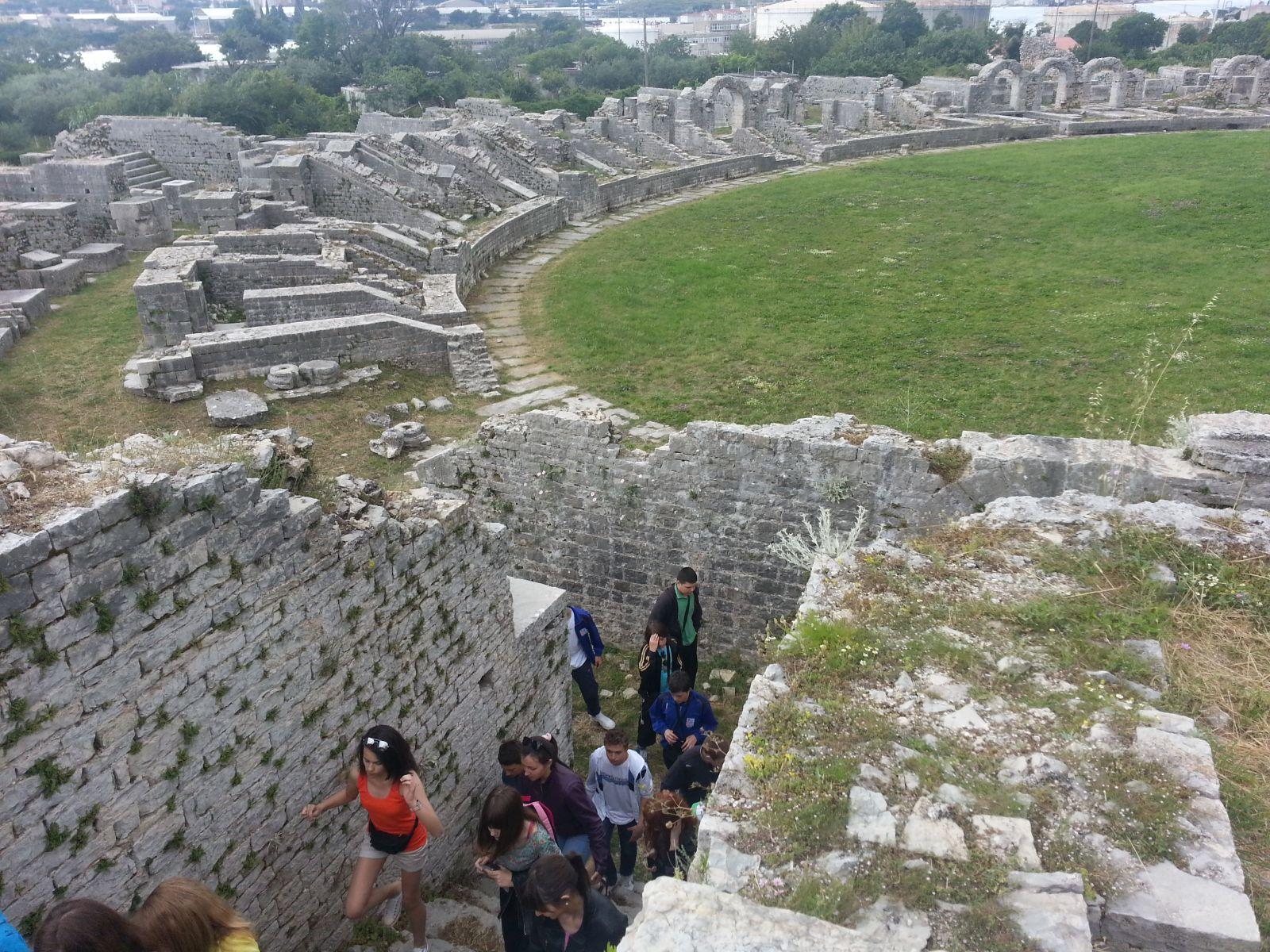 Solin: rimski amfiteatar