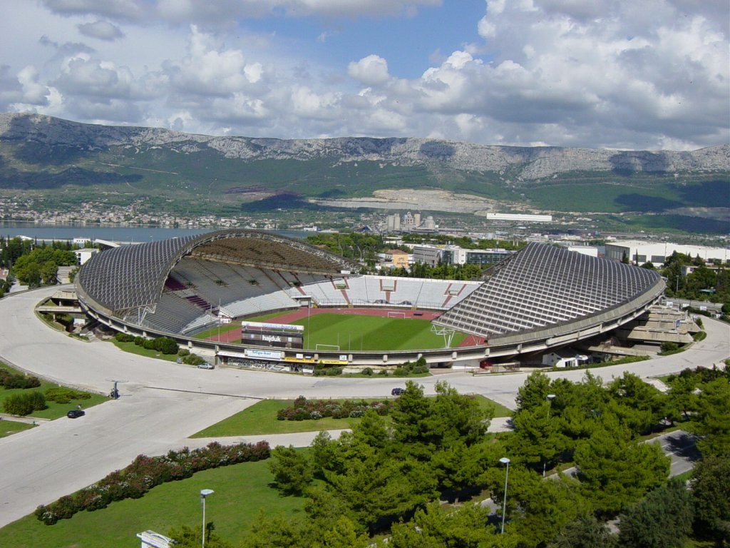 Split: stadion Poljud