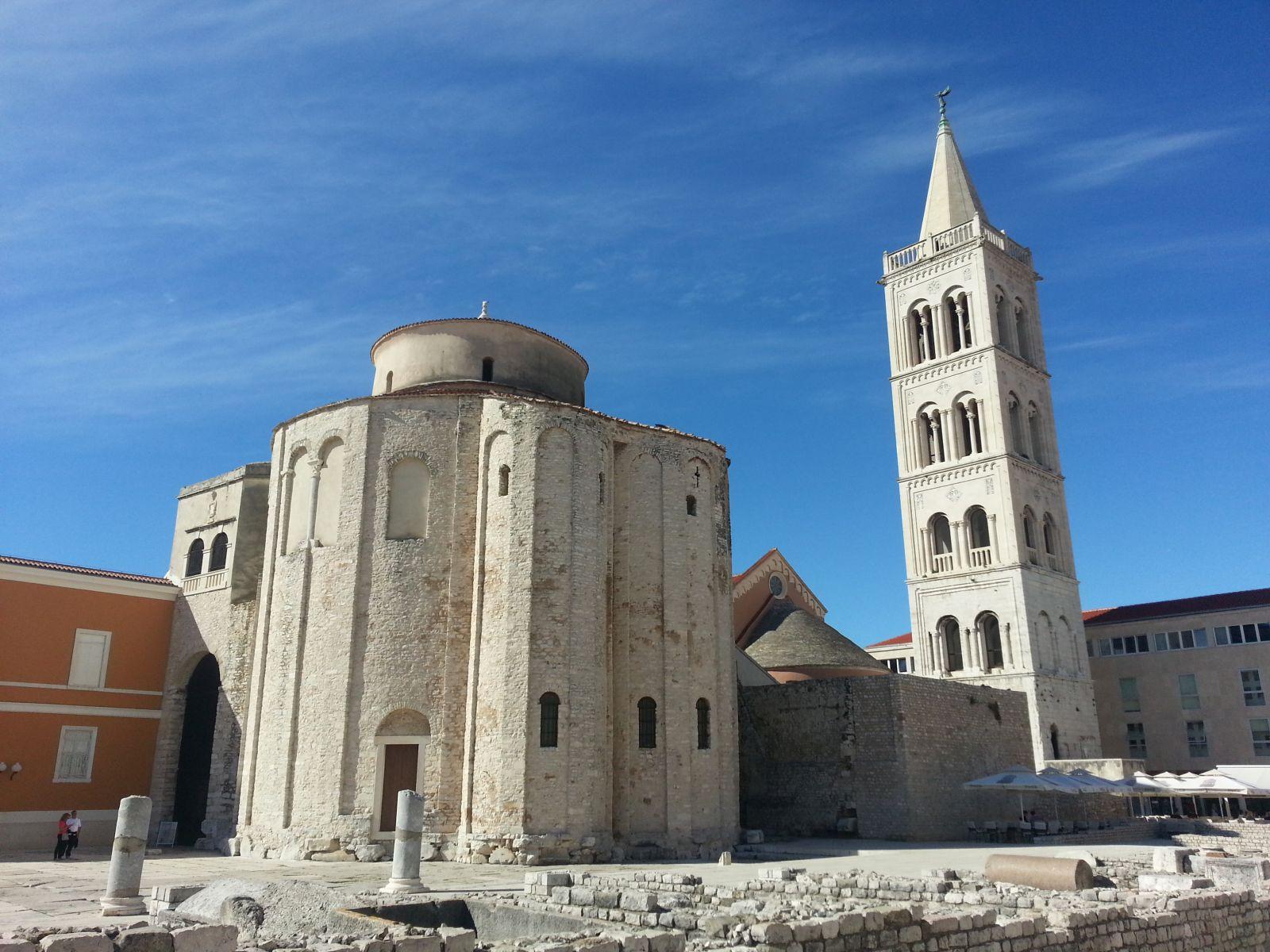 Najbolje od srednje i sjeverne Dalmacije: Zadar: sv. Donat i katedrala