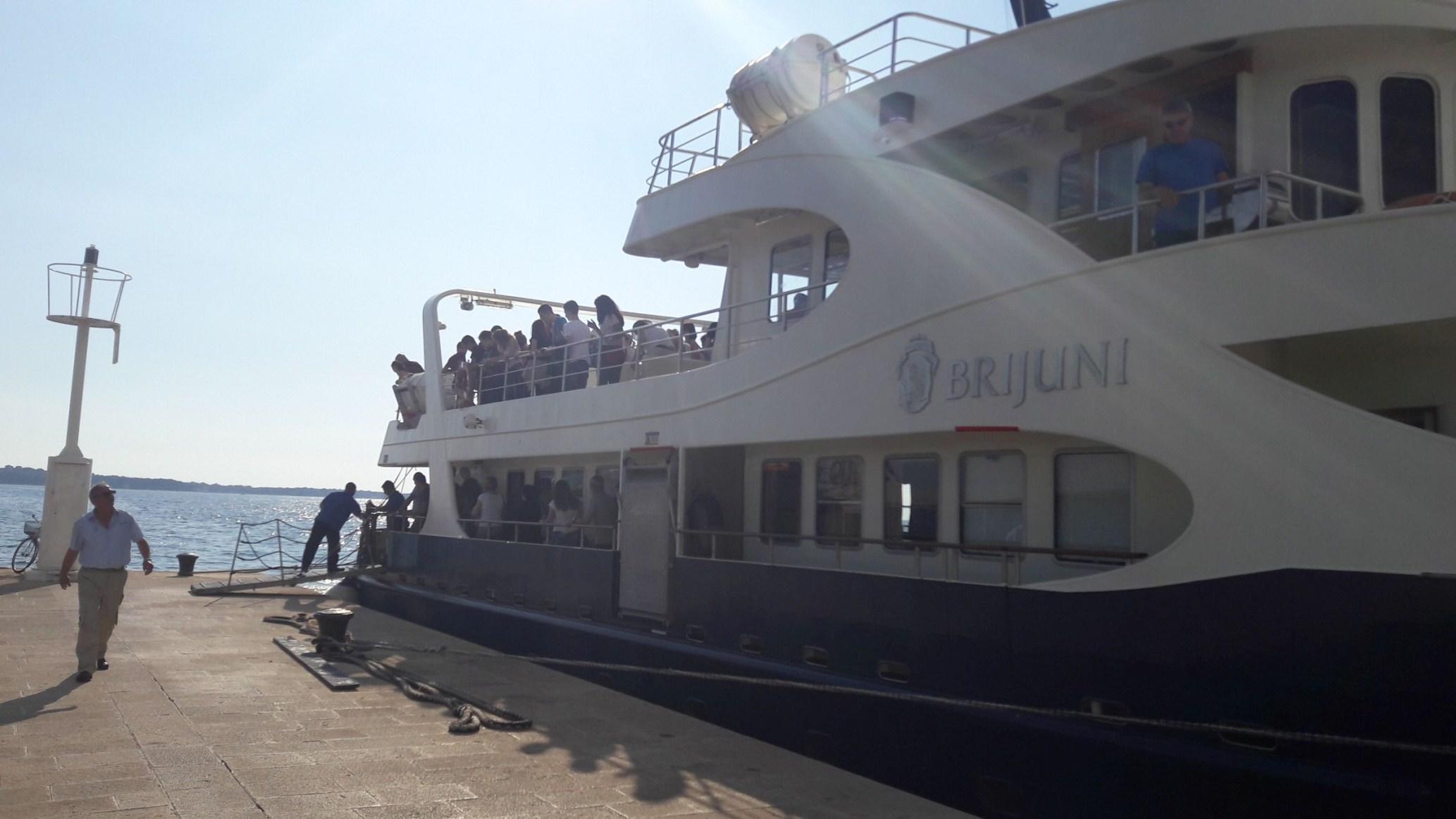 Najbolje od Istre: Brijuni: vožnja brodom
