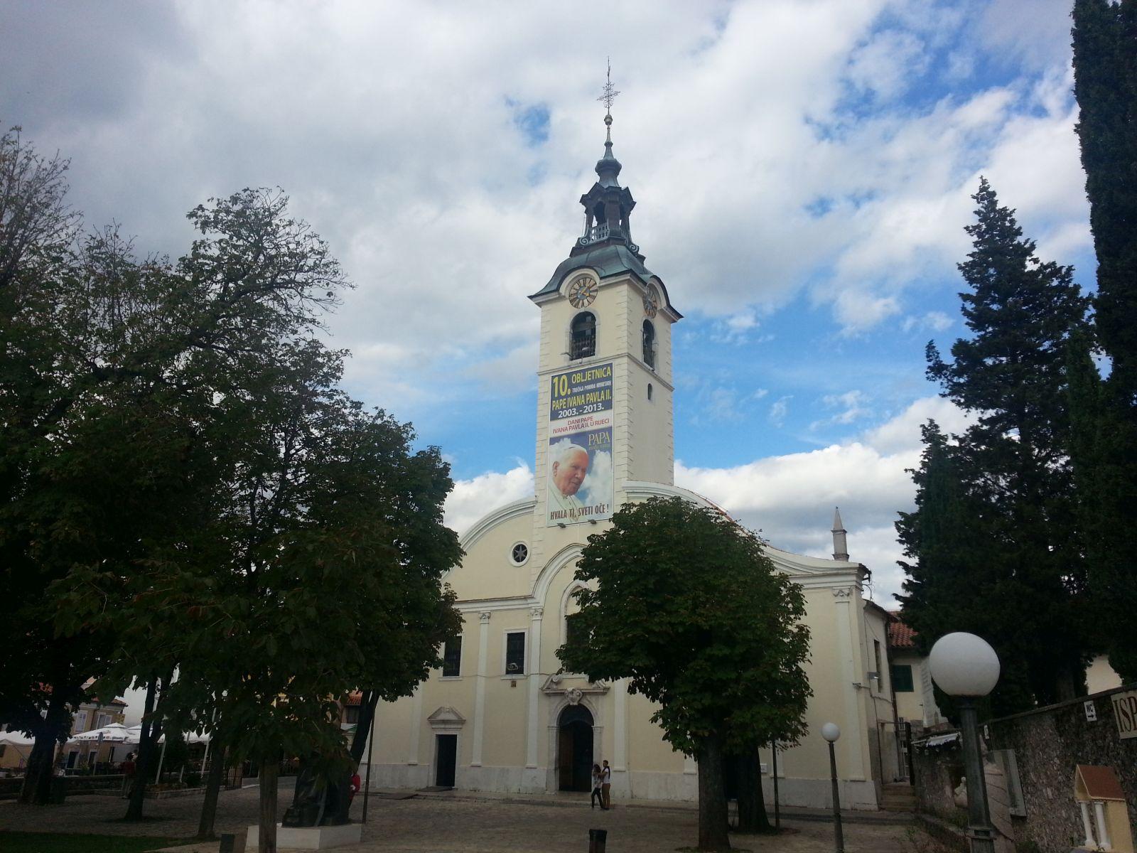Najbolje od Istre: Rijeka: Svetište Gospe Trsatske