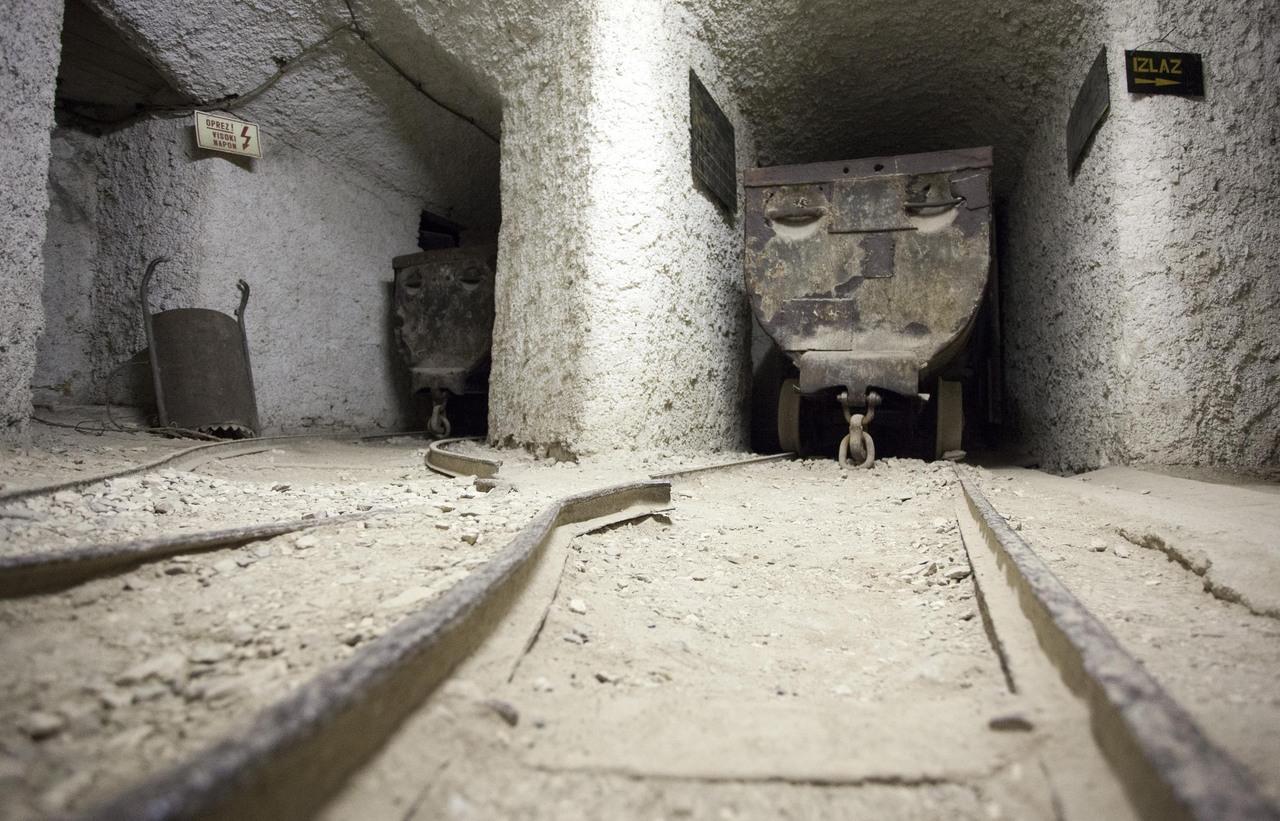 Najbolje od Istre: Labin: rudnik ugljena