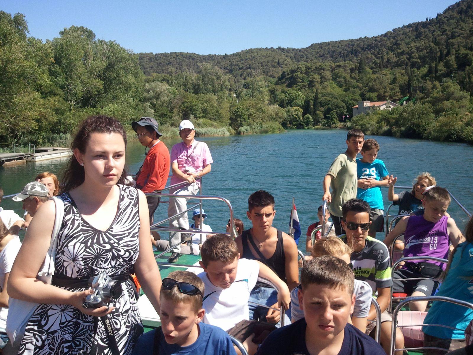 Ljepote sjeverne Dalmacije: Nacionalni park Krka: vožnja brodom