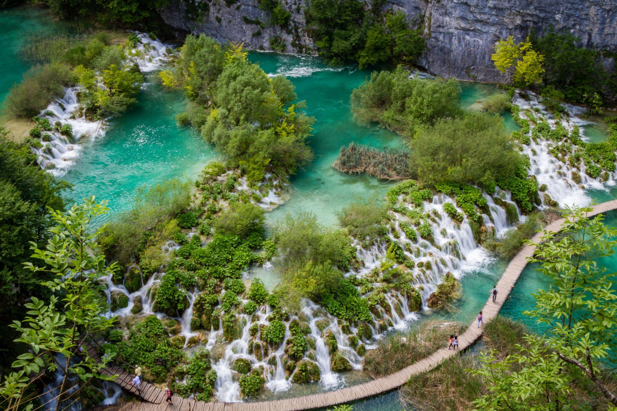 Ljepote sjeverne Dalmacije: Nacionalni park Plitvička jezera