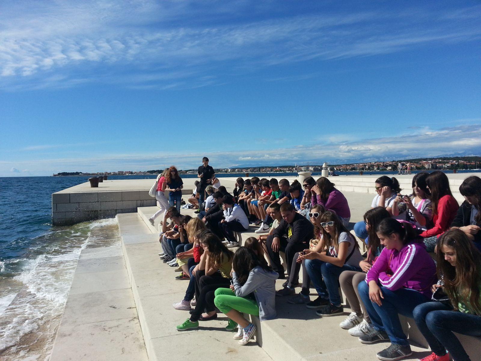 Ljepote sjeverne Dalmacije: Zadar: Morske orgulje