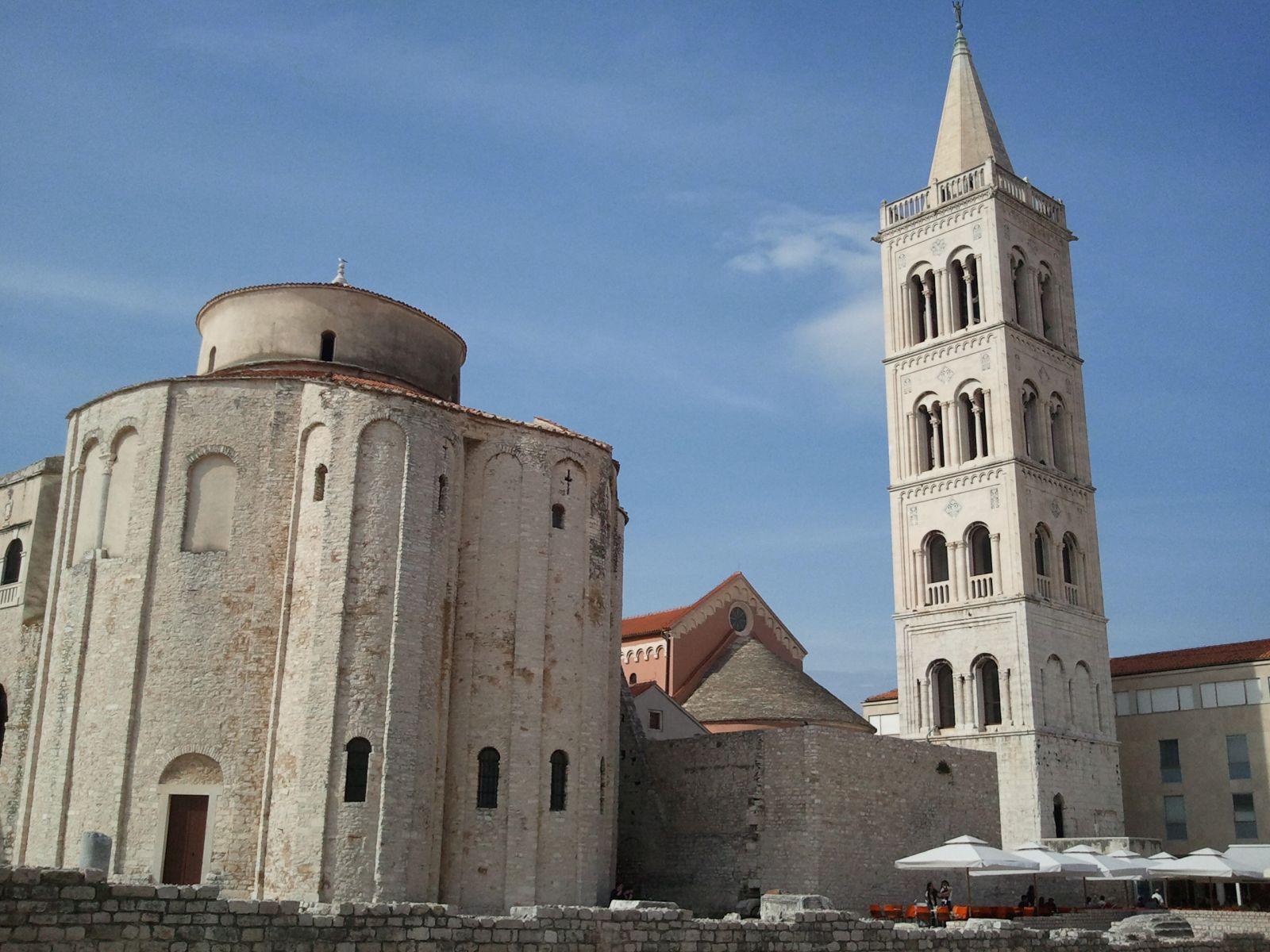Ljepote sjeverne Dalmacije: Zadar: sv. Donat i katedrala