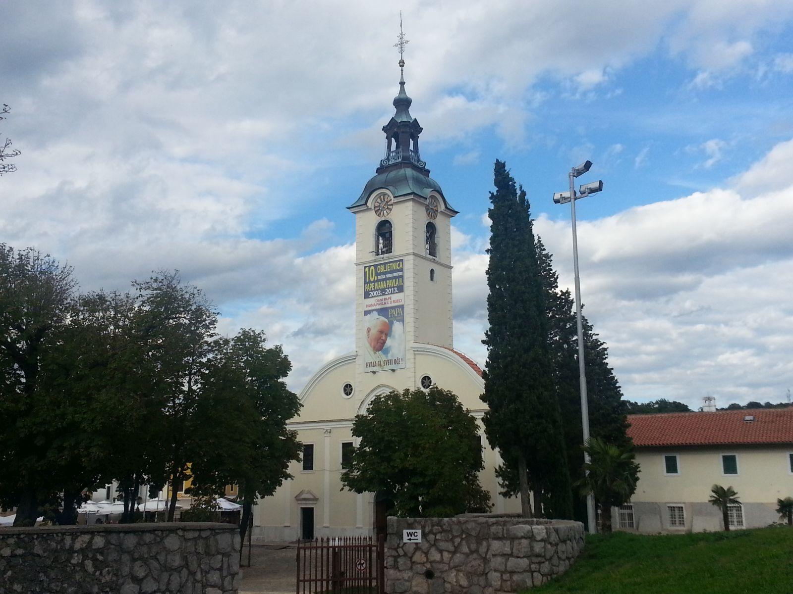 Rijeka: Svetište Gospe Trsatske
