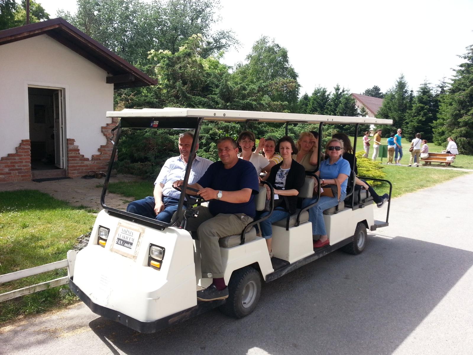 Slavonija: Višnjica: vožnja vlakićem