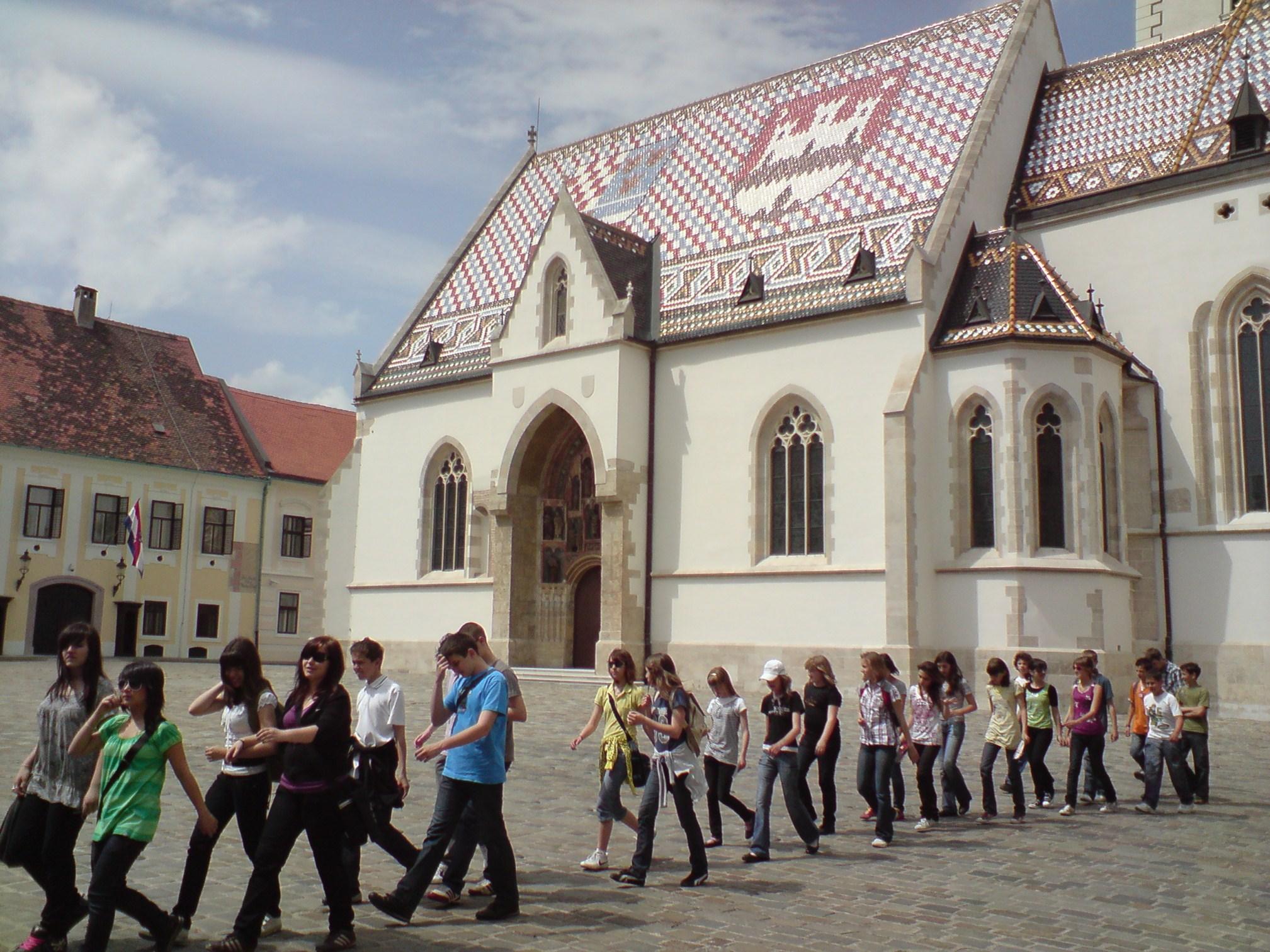 Zagreb - Opća tura: Crkva sv. Marka