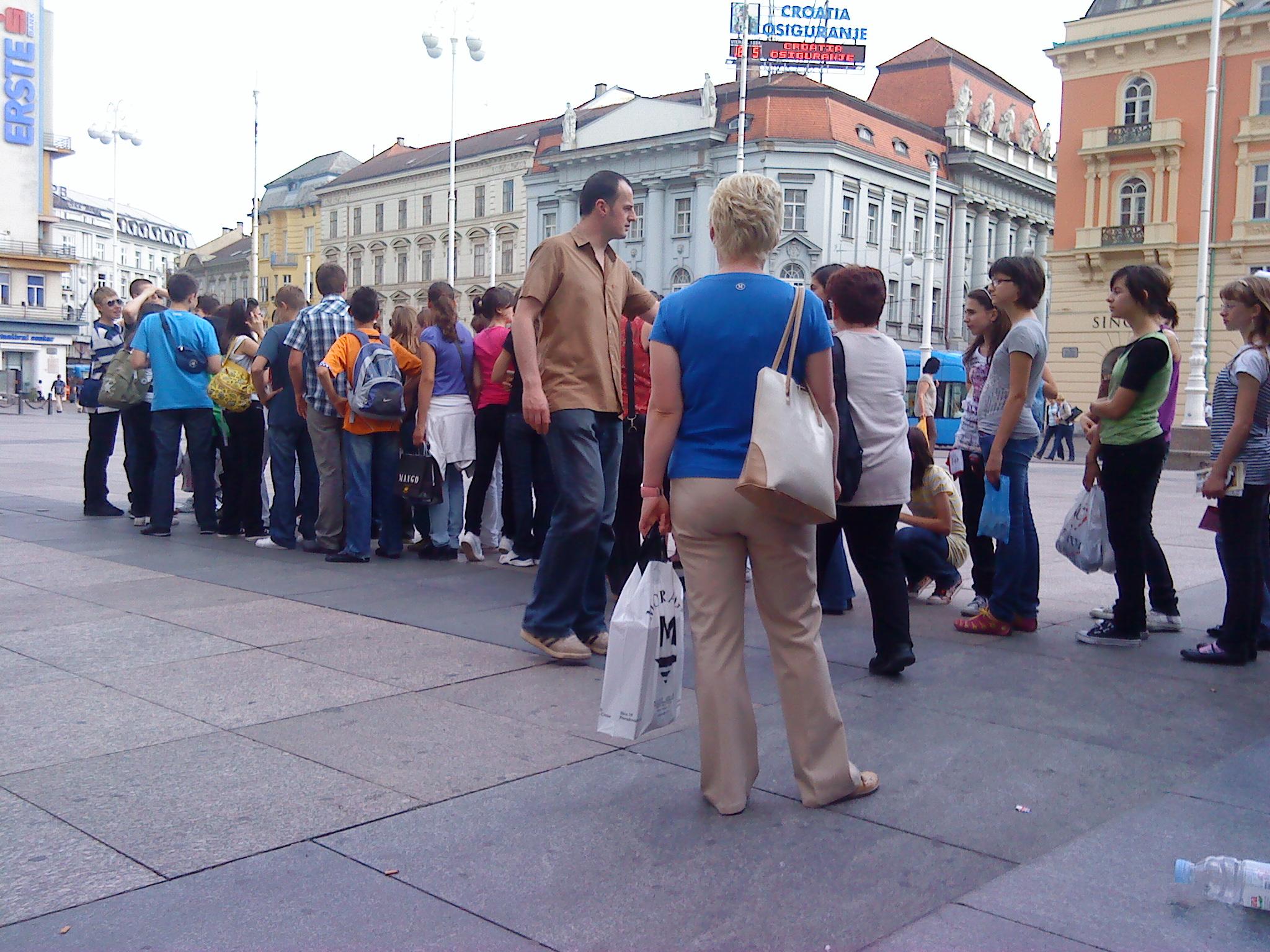 Zagreb - Opća tura: Trg bana Jelačića