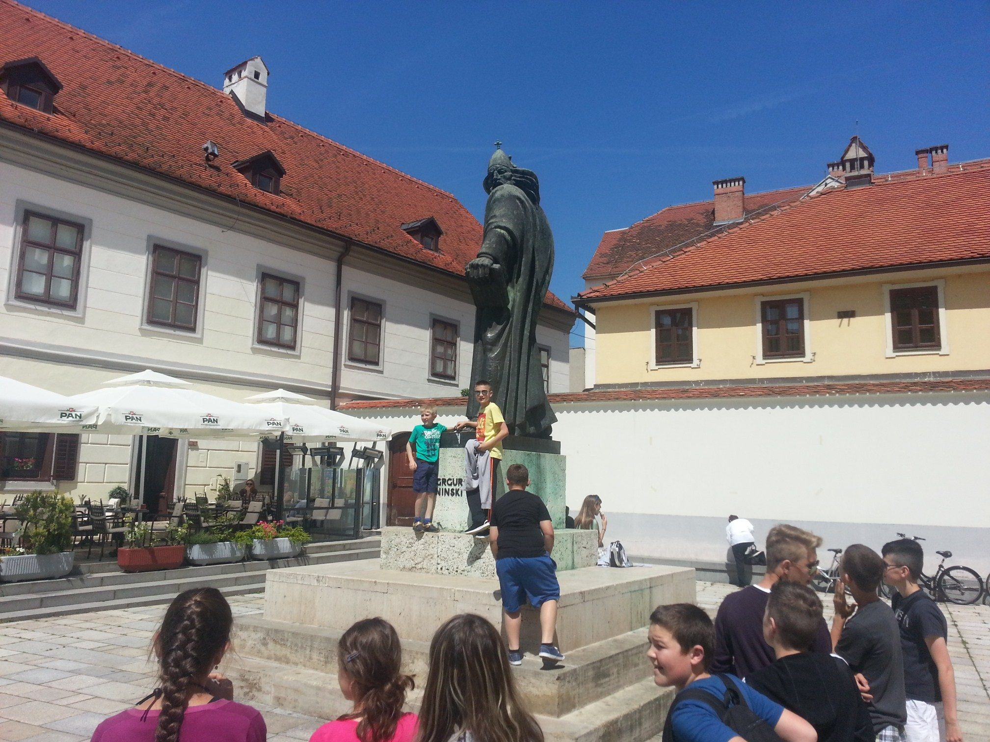 Pračovjek na korak od baroka: Varaždin: spomenik Grguru Ninskom