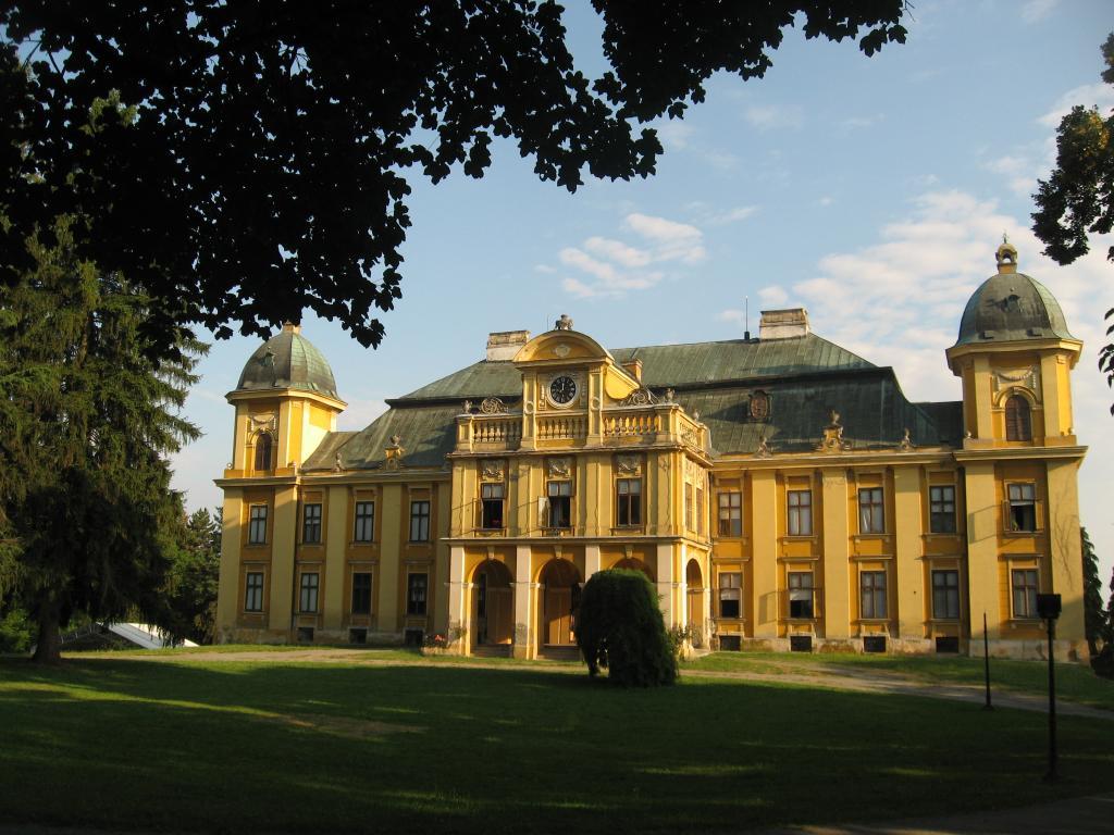 Biskupsko Đakovo i grofovsko Našice: Našice: Dvorac Pejačević