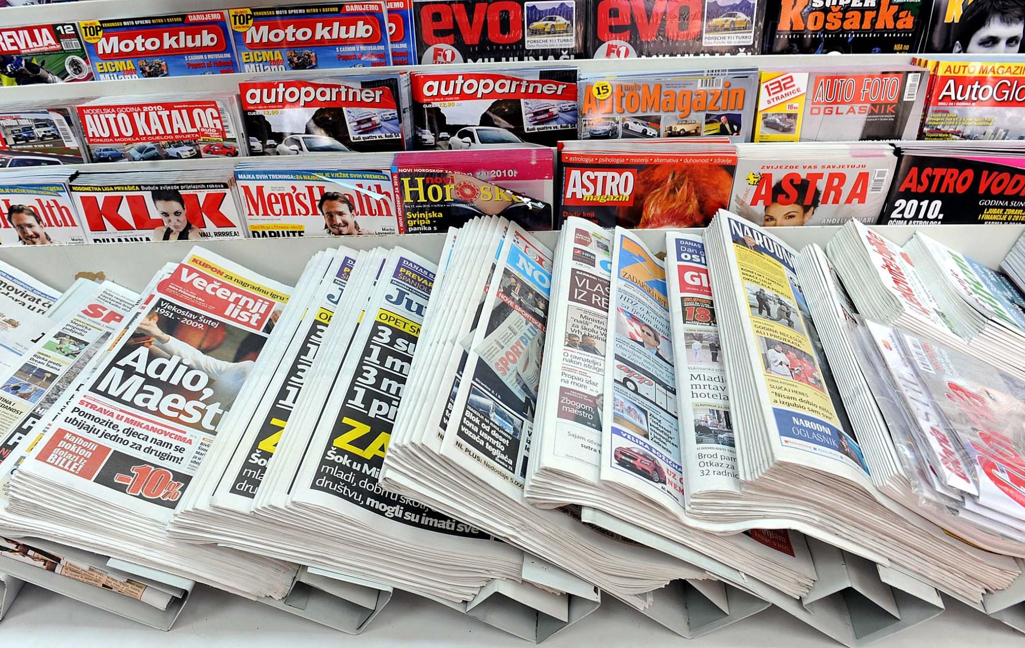 Posjet novinama po izboru