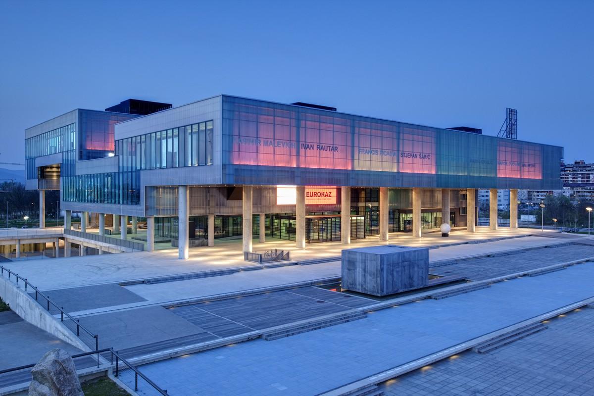 Zagreb kroz kulturu i umjetnost: Muzej suvremene umjetnosti