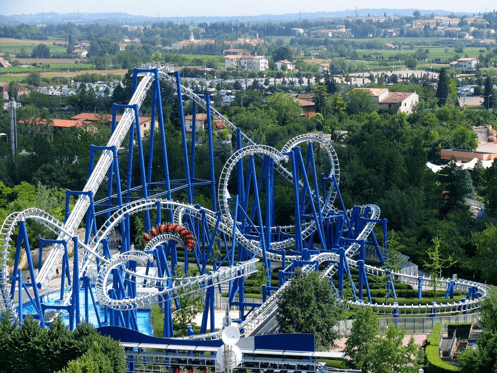 Gardaland: Gardaland: Blue tornado