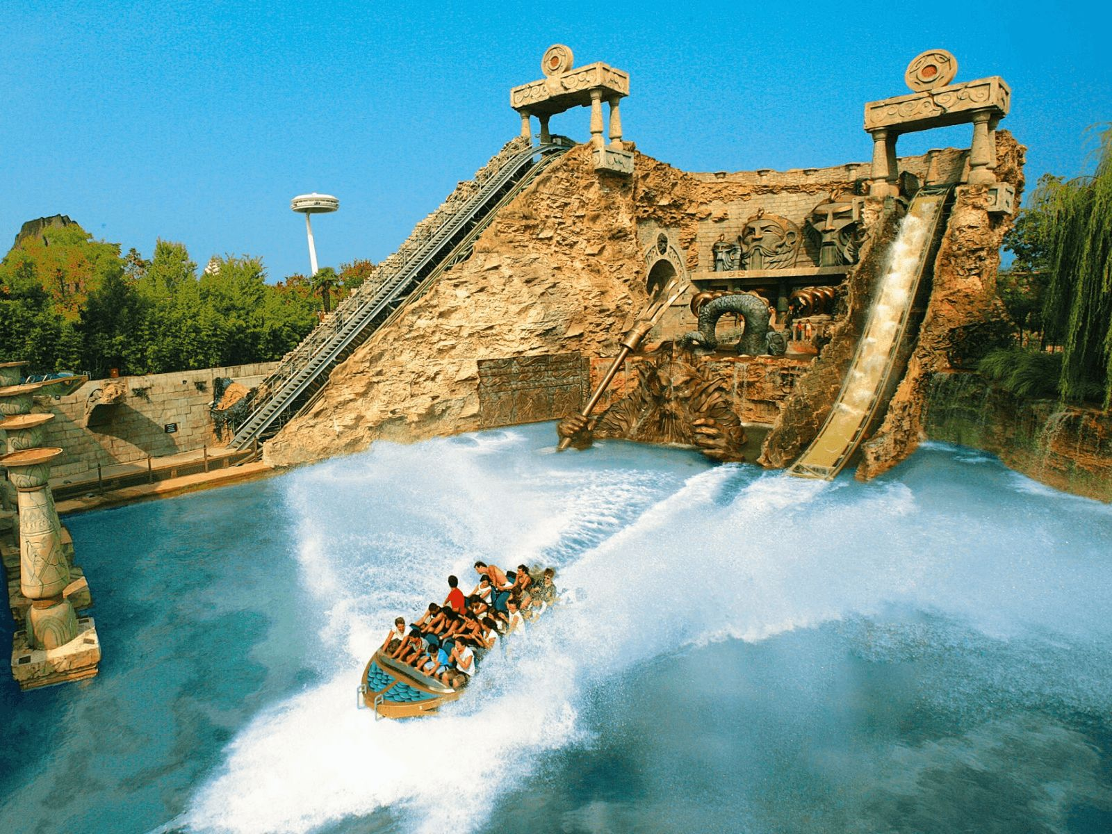 Gardaland: Gardaland: water adventure