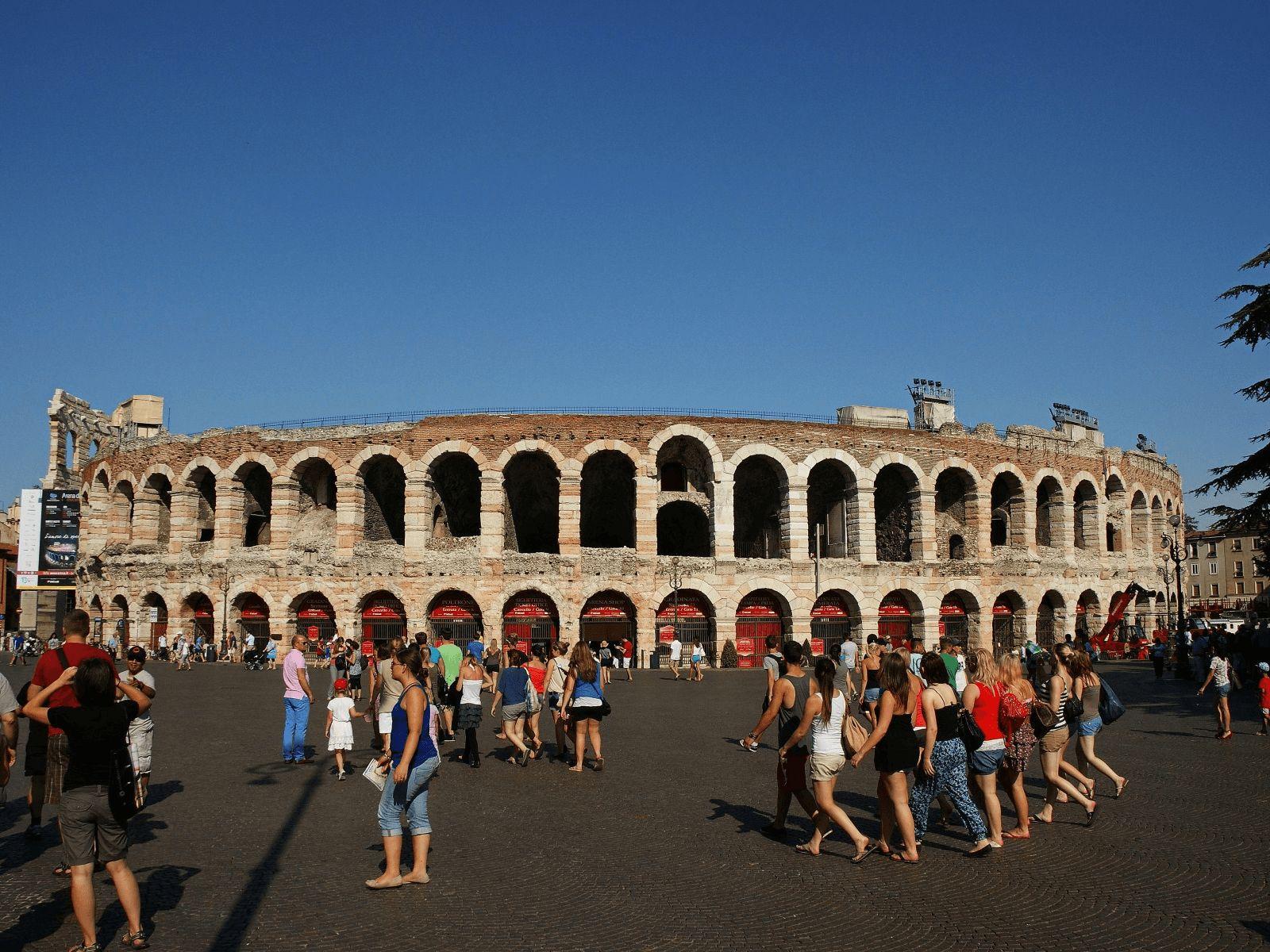Gardaland: Verona: Amfiteatar