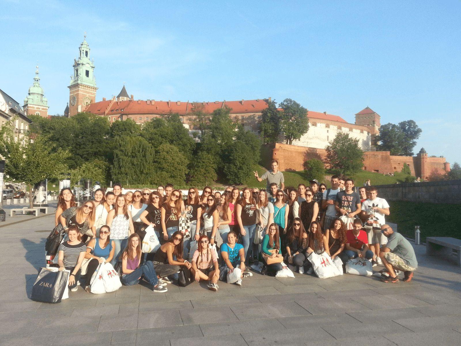 Prag i Krakow: Krakow: dvorac Wawel