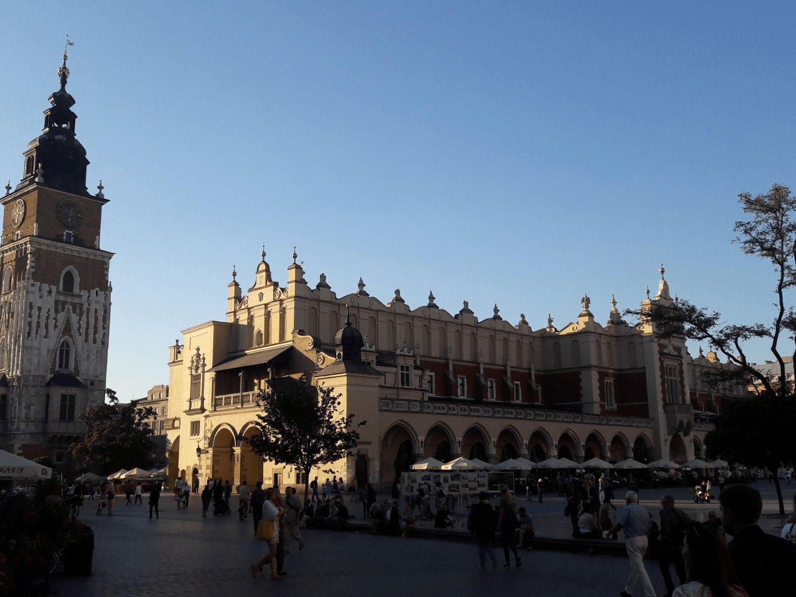 Prag i Krakow: Krakow: Sukiennice