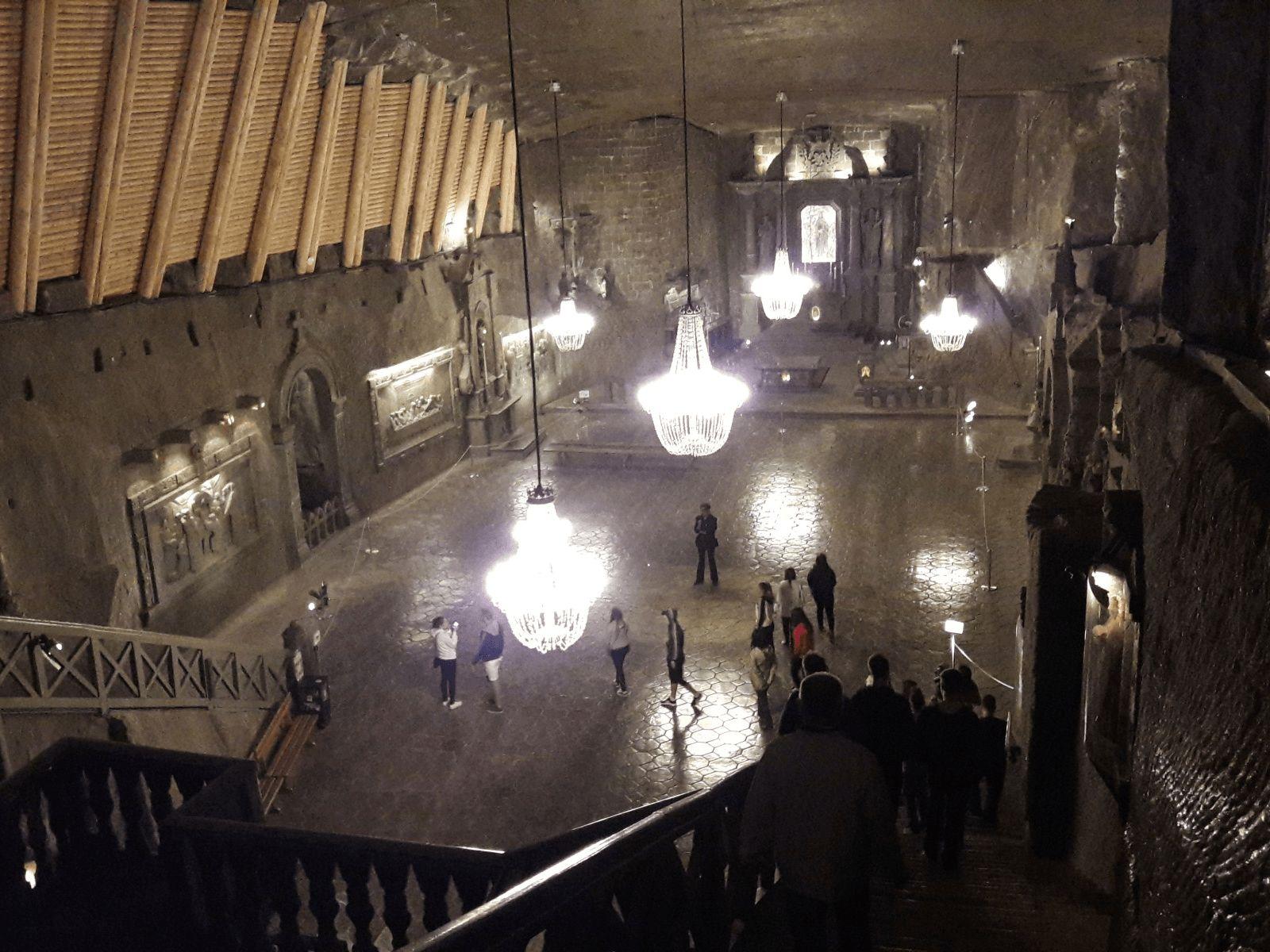 Prag i Krakow: Krakow: rudnik soli Wieliczka