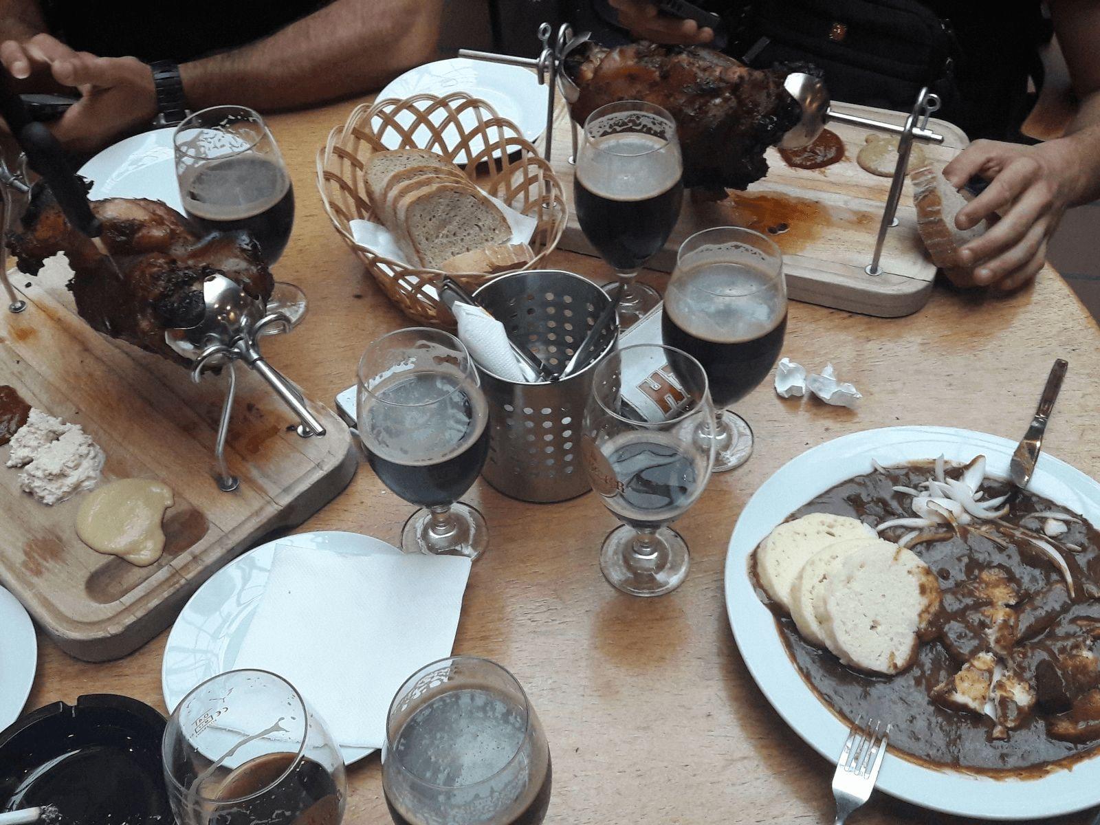 Prag i Krakow: Prag: praške pivnice
