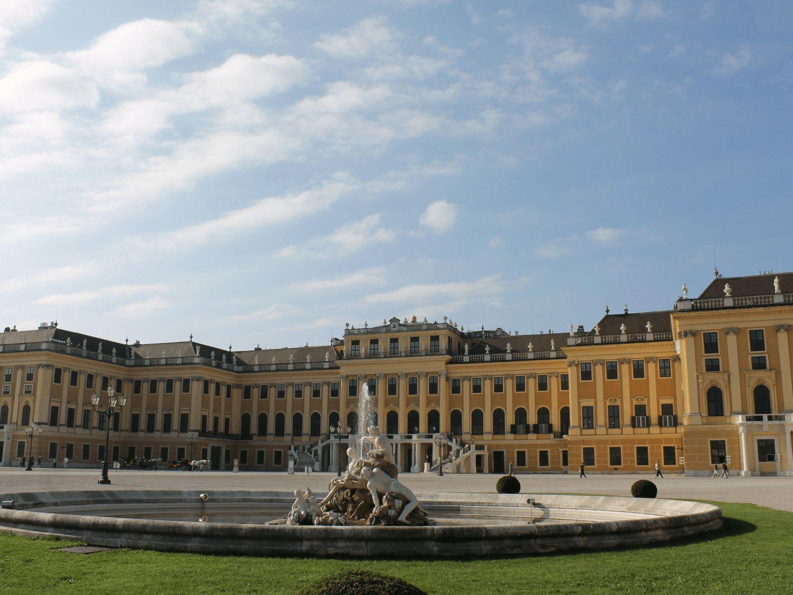 Prag, Beč, Bratislava i Budimpešta: Beč: dvorac Schönbrunn