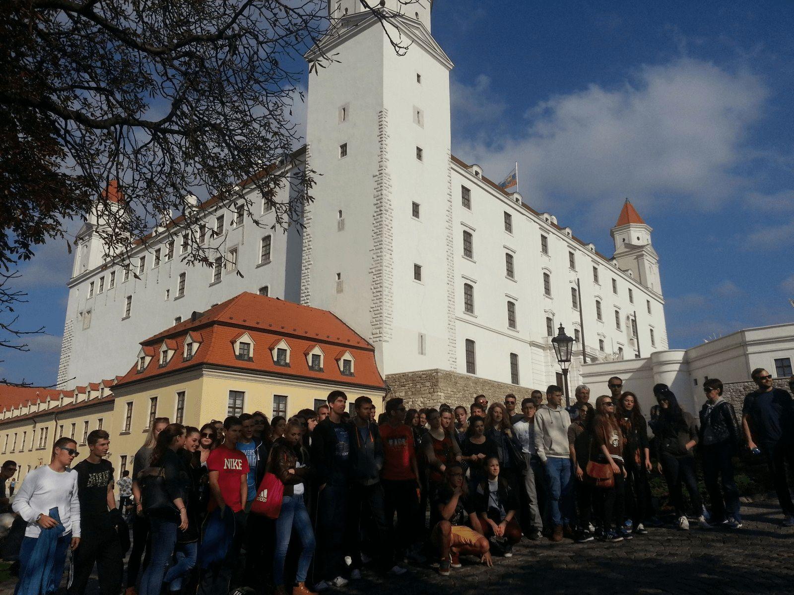 Prag, Beč, Bratislava i Budimpešta: Bratislava: Bratislavski hrad