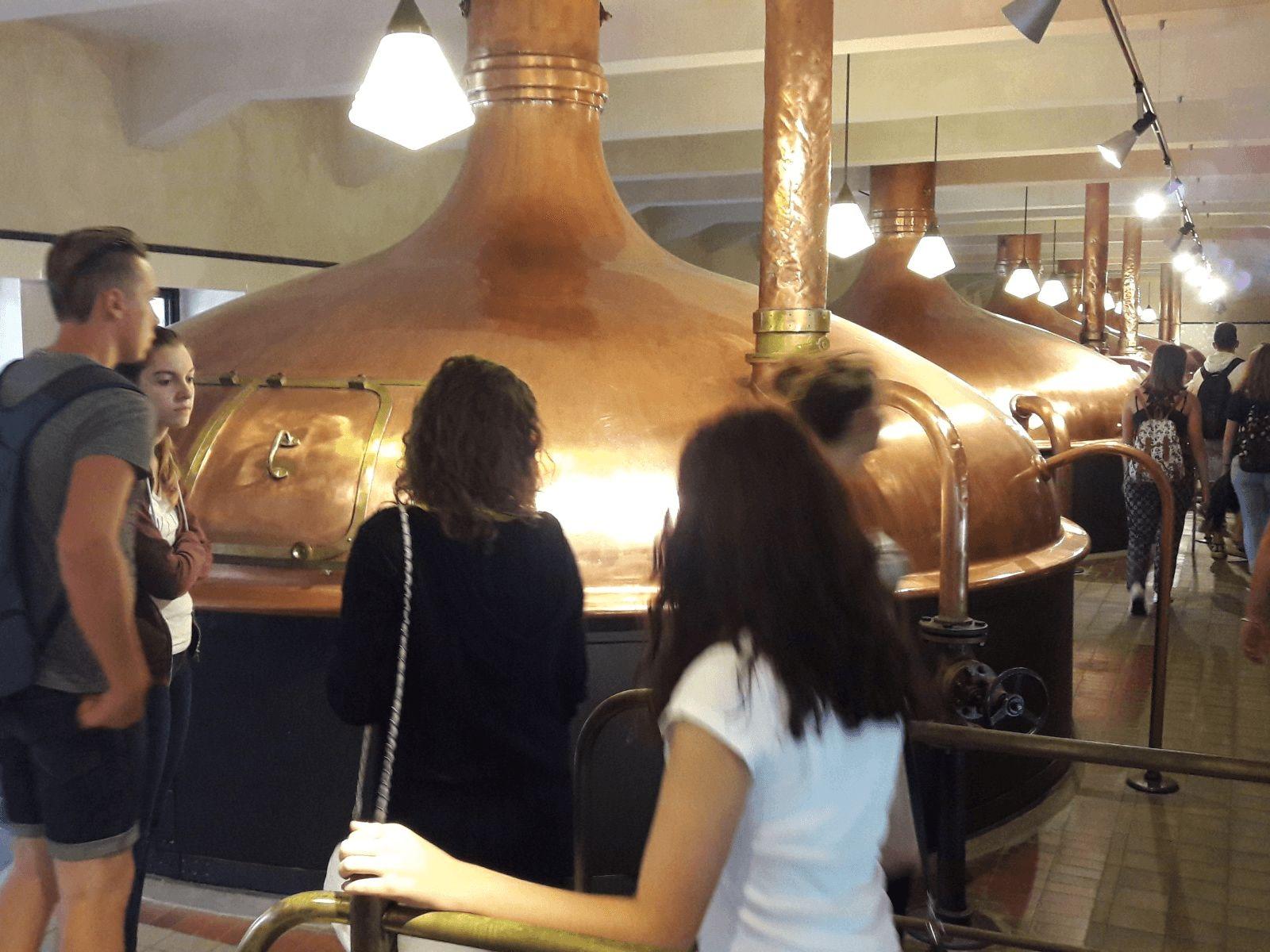 Prag, Beč, Bratislava i Budimpešta: Plzen: Tvornica Pilsner Urquell