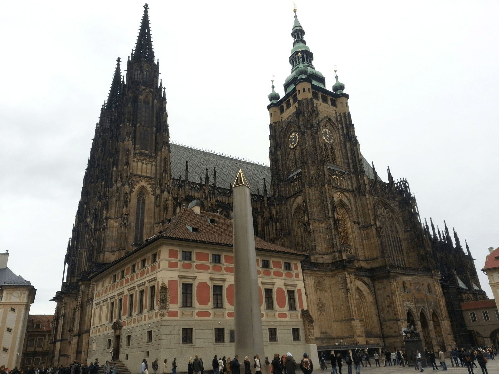 Prag, Beč, Bratislava i Budimpešta: Prag: katedrala Sv. Vida