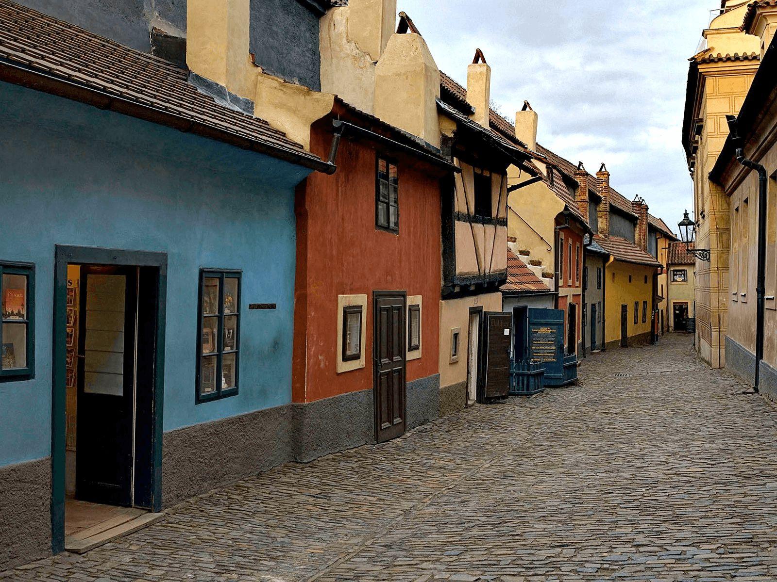 Prag, Berlin i Dresden: Prag: Zlatna ulica
