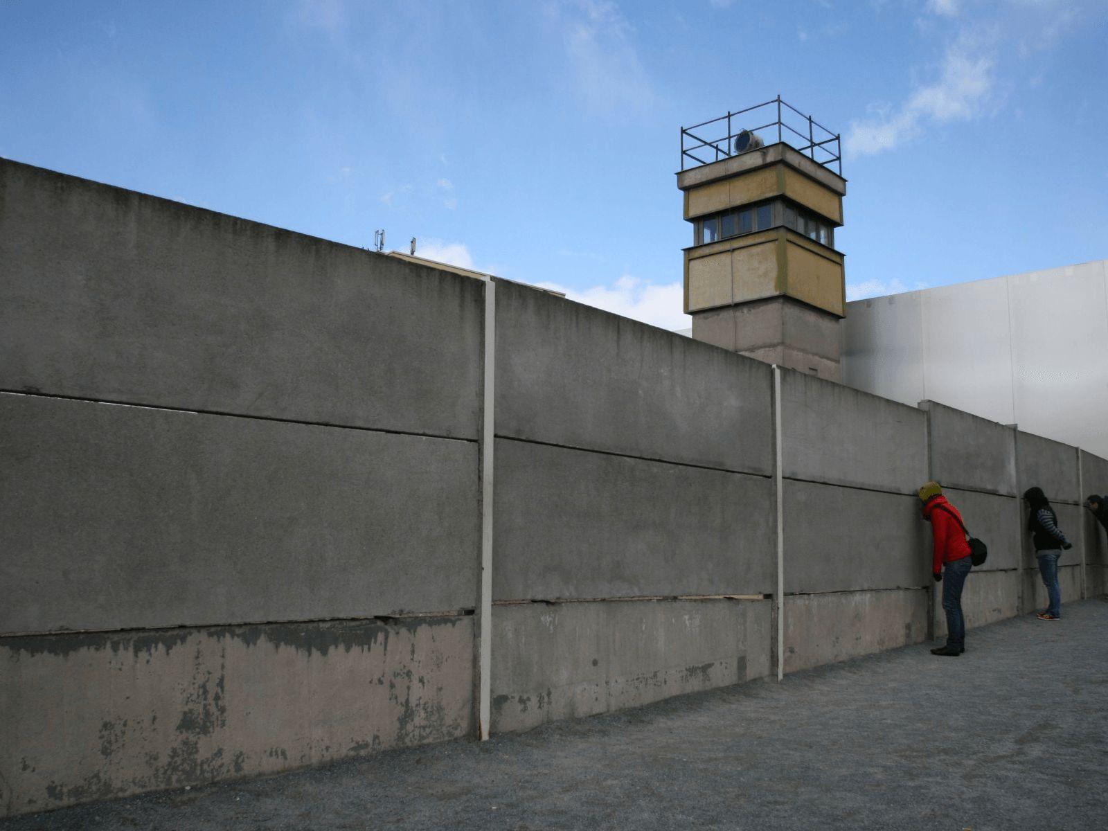 Prag, Berlin i Dresden: Berlinski zid