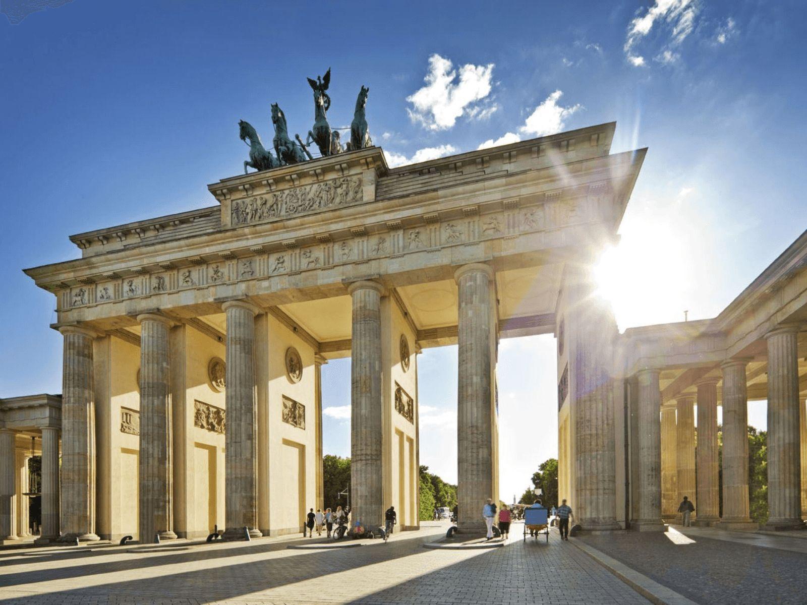 Prag, Berlin i Dresden: Berlin:Brandebuška vrata