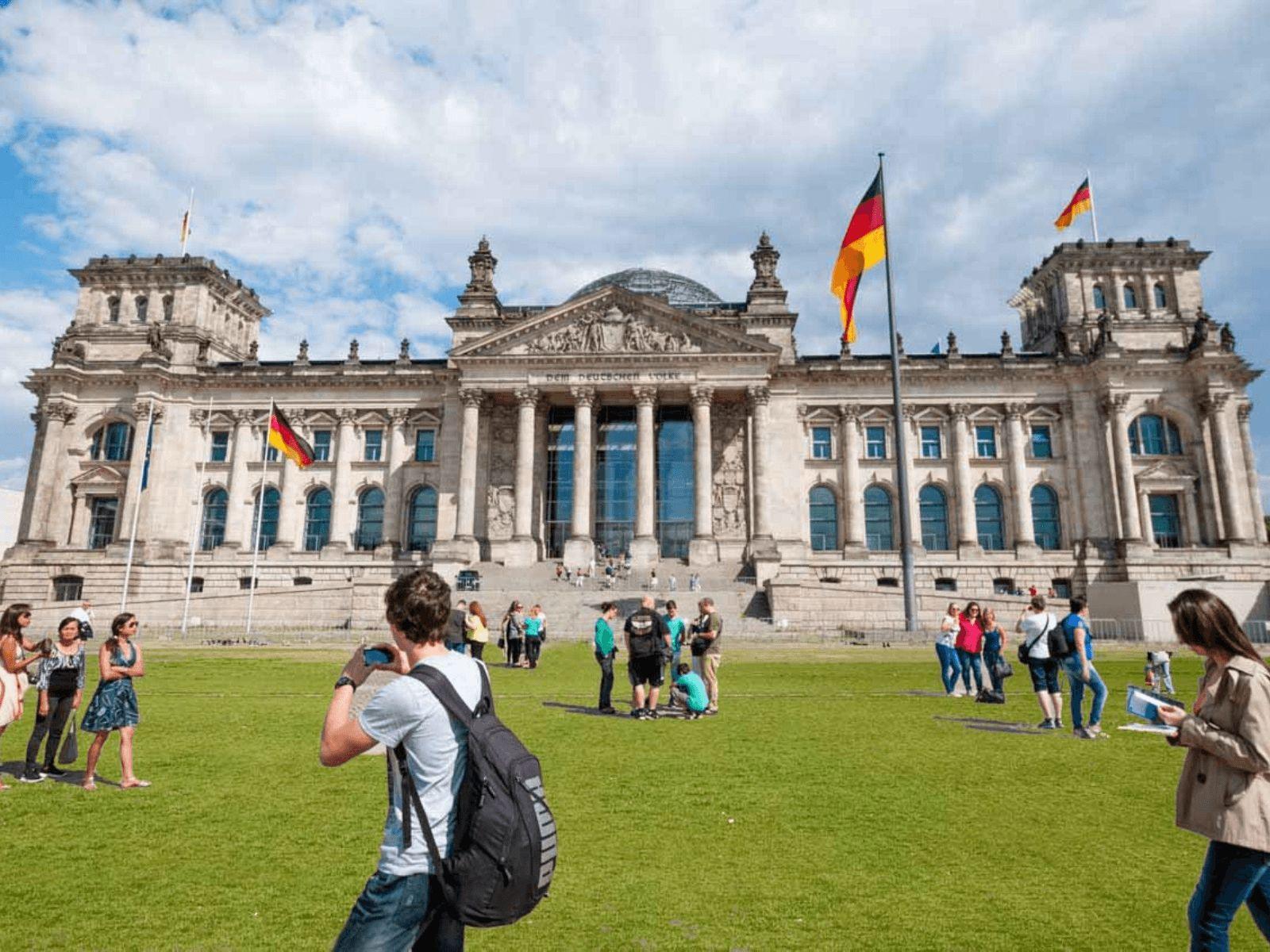 Prag, Berlin i Dresden