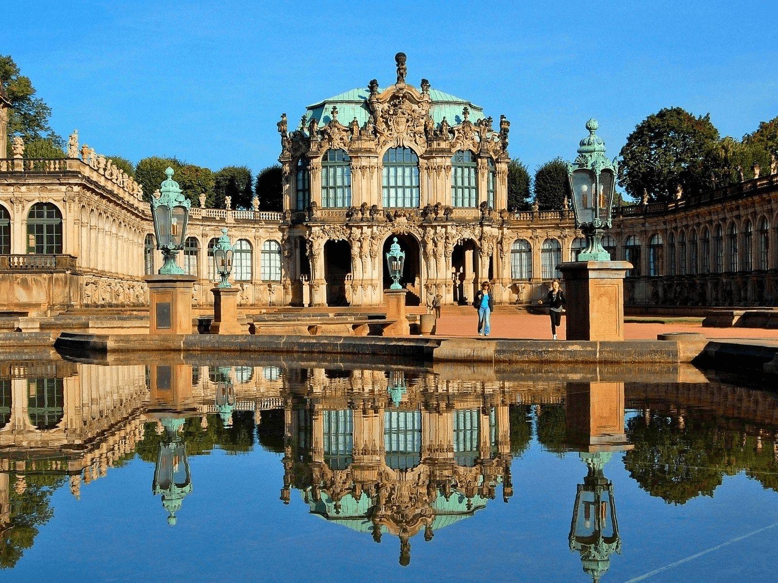 Prag, Berlin i Dresden: Dresden: Zwinger