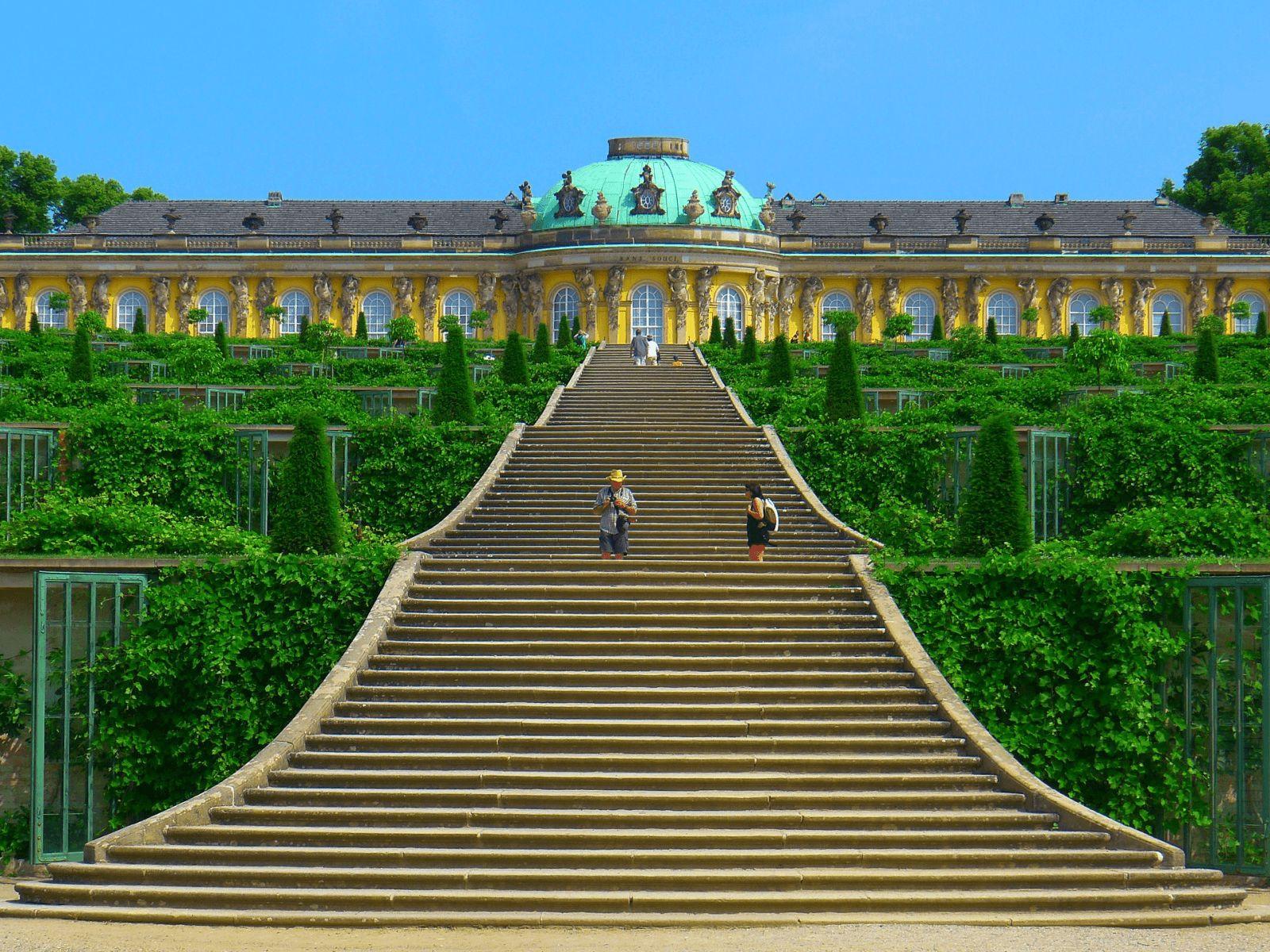 Prag, Berlin i Dresden: Potsdam