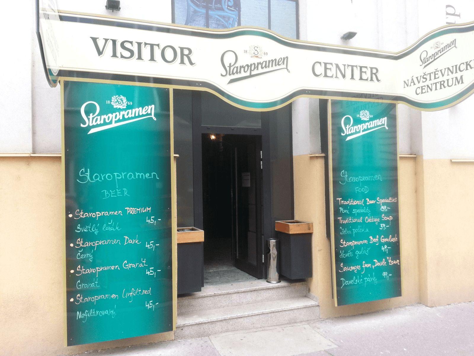 Prag, Berlin i Dresden: Prag: pivovara Staropramen