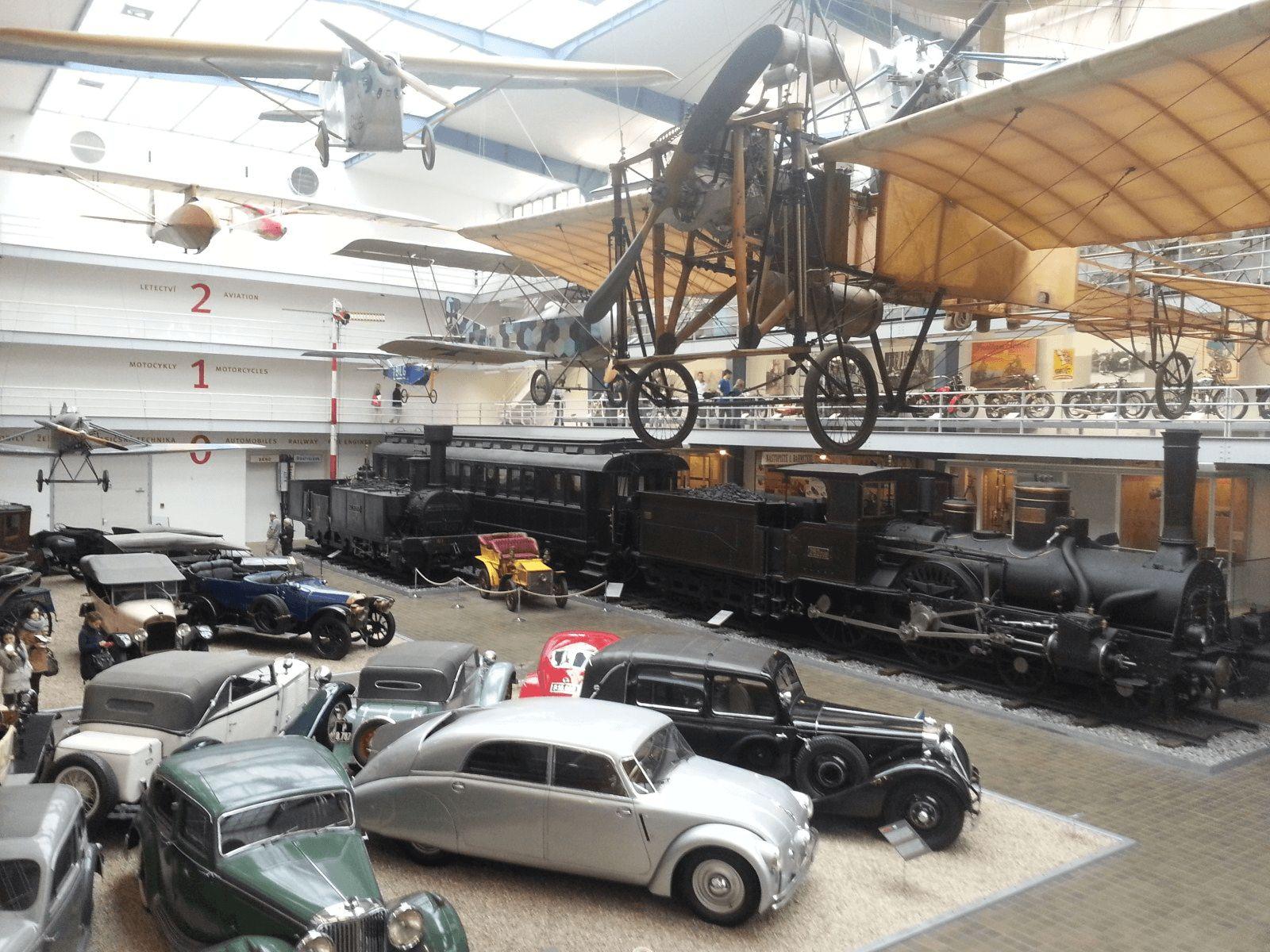 Prag, Berlin i Dresden: Prag: Tehnički muzej