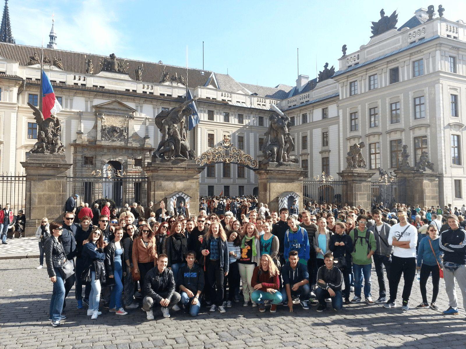 Prag, Munchen i Dresden: Prag: Praški dvorac