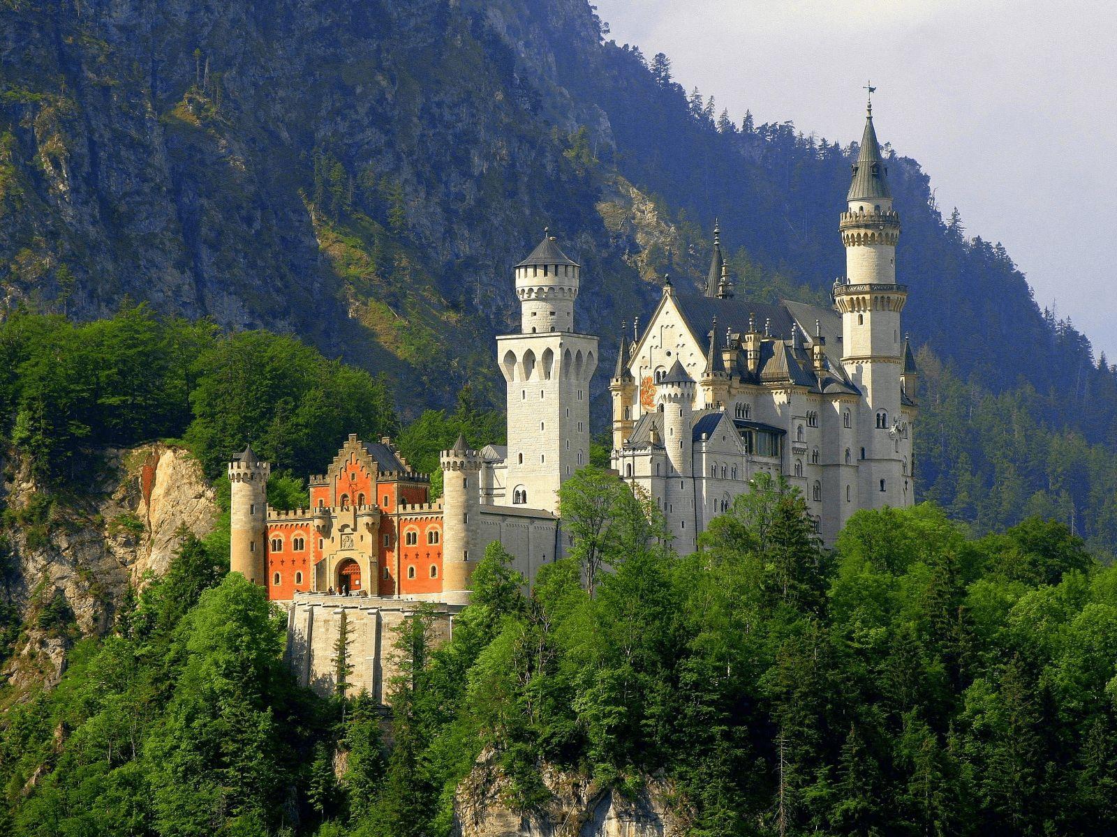 Prag, Munchen i Dresden: Dvorac Neuschwanstein
